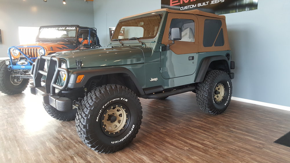 2000 Series 1 TJ - Click to view build