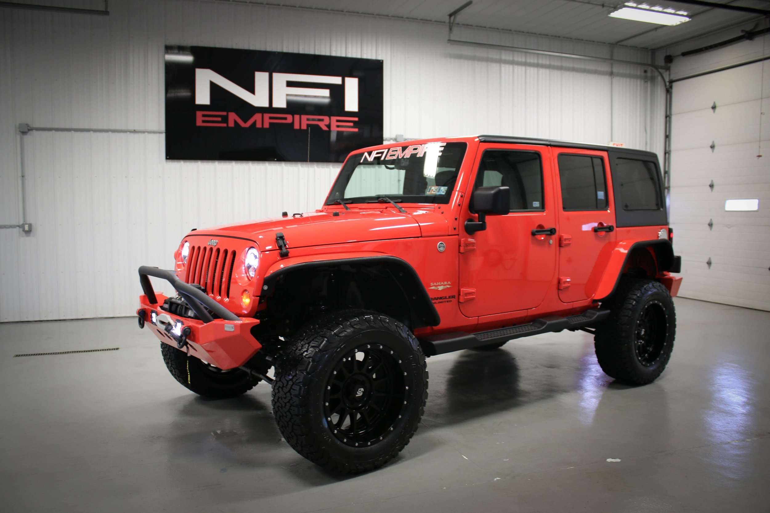 Rock Lobster Jeep * Click to View Build