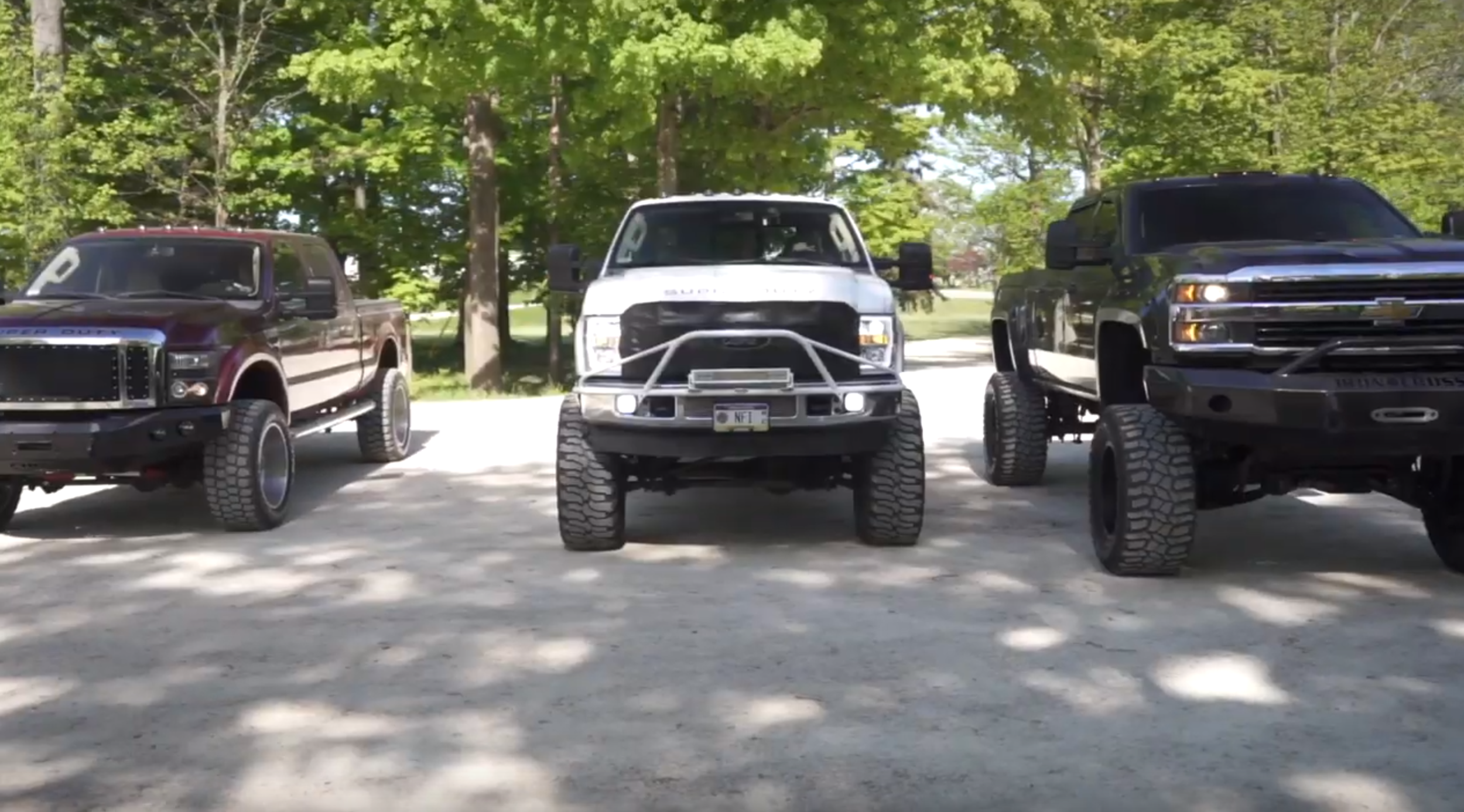 Lifted Diesels Dominate the Trails - Click to View
