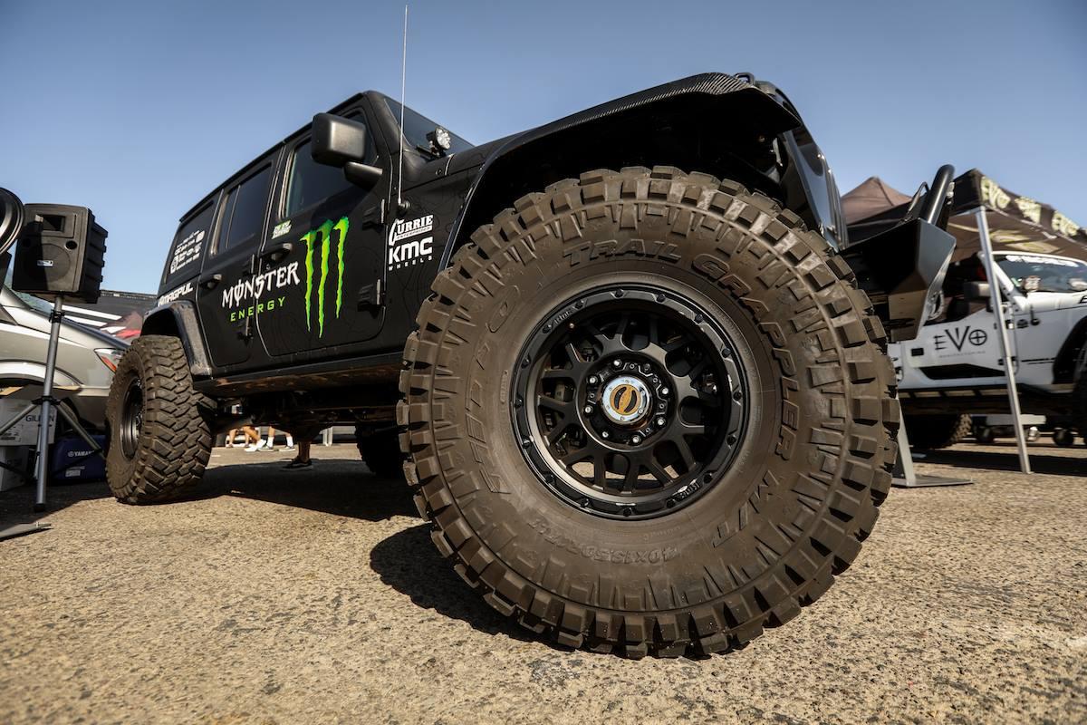 Monster Energy Jeep JK