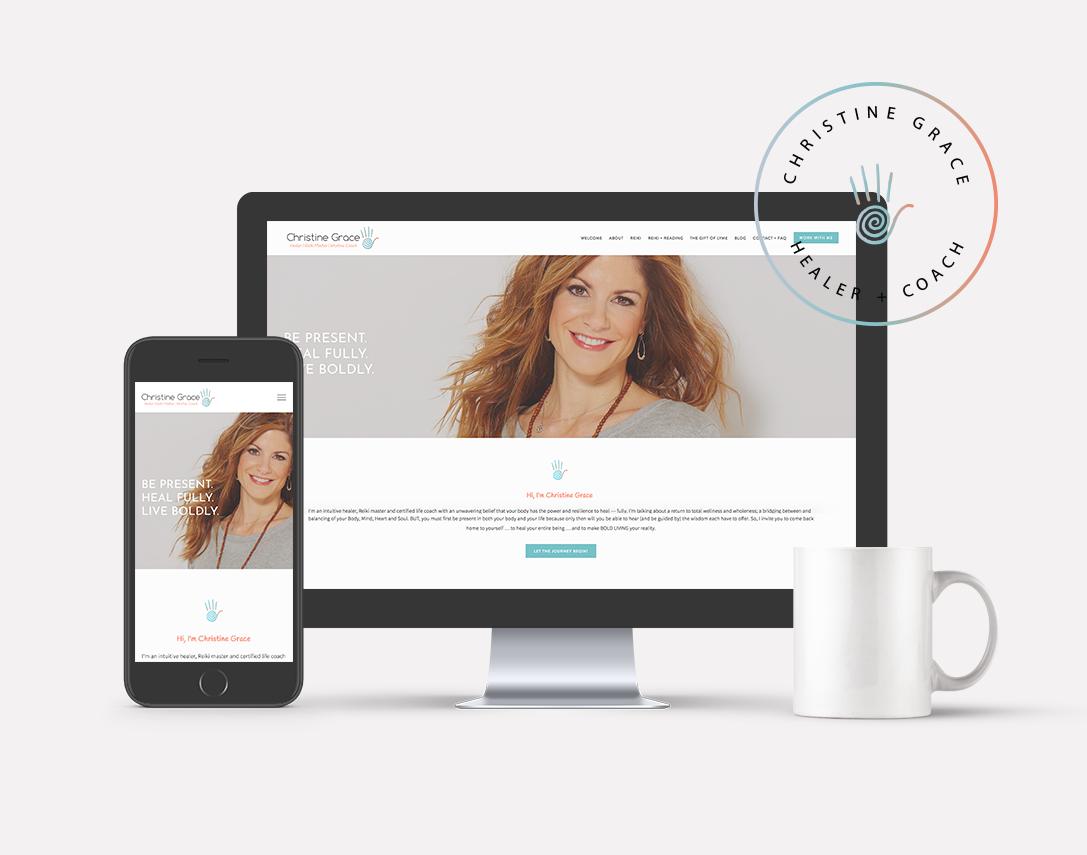 Christine Grace · Brand + Web Design