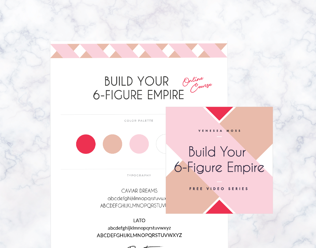 Build Your 6-Figure Empire  ·  Program Design