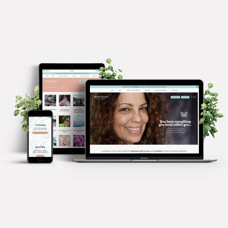 Maria McCord  · Brand + Web Design