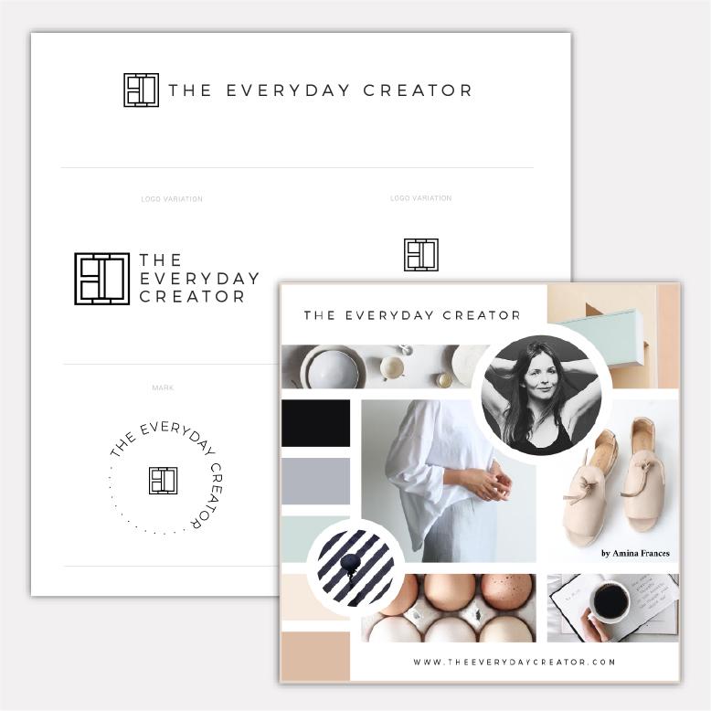 The Everyday Creator · Brand Design