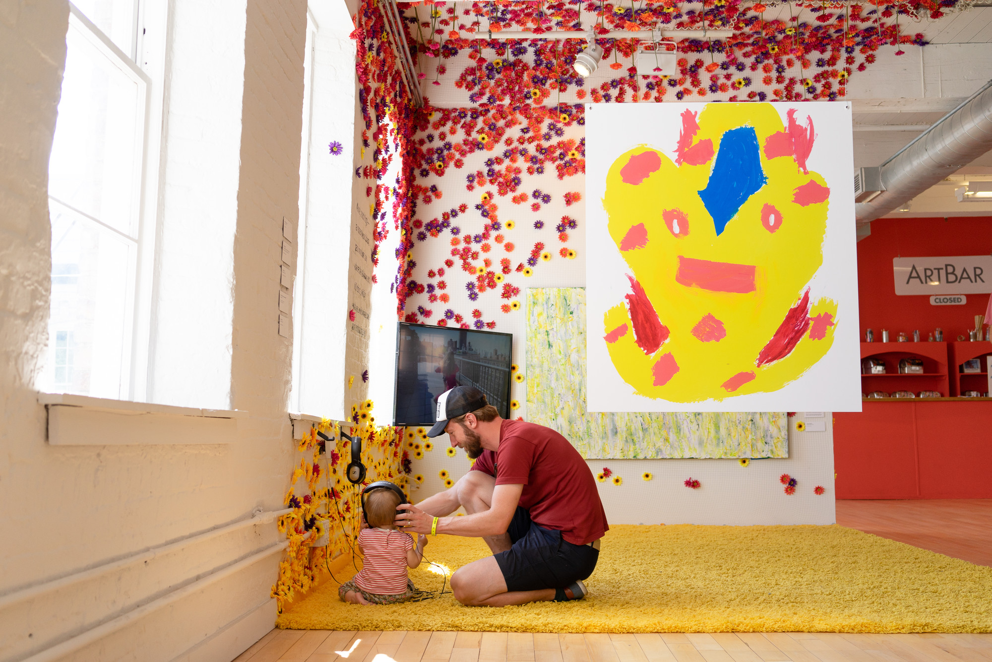 Come to Your Senses , 2017  Curated by Sally Taylor  Kidspace at MASS MoCA