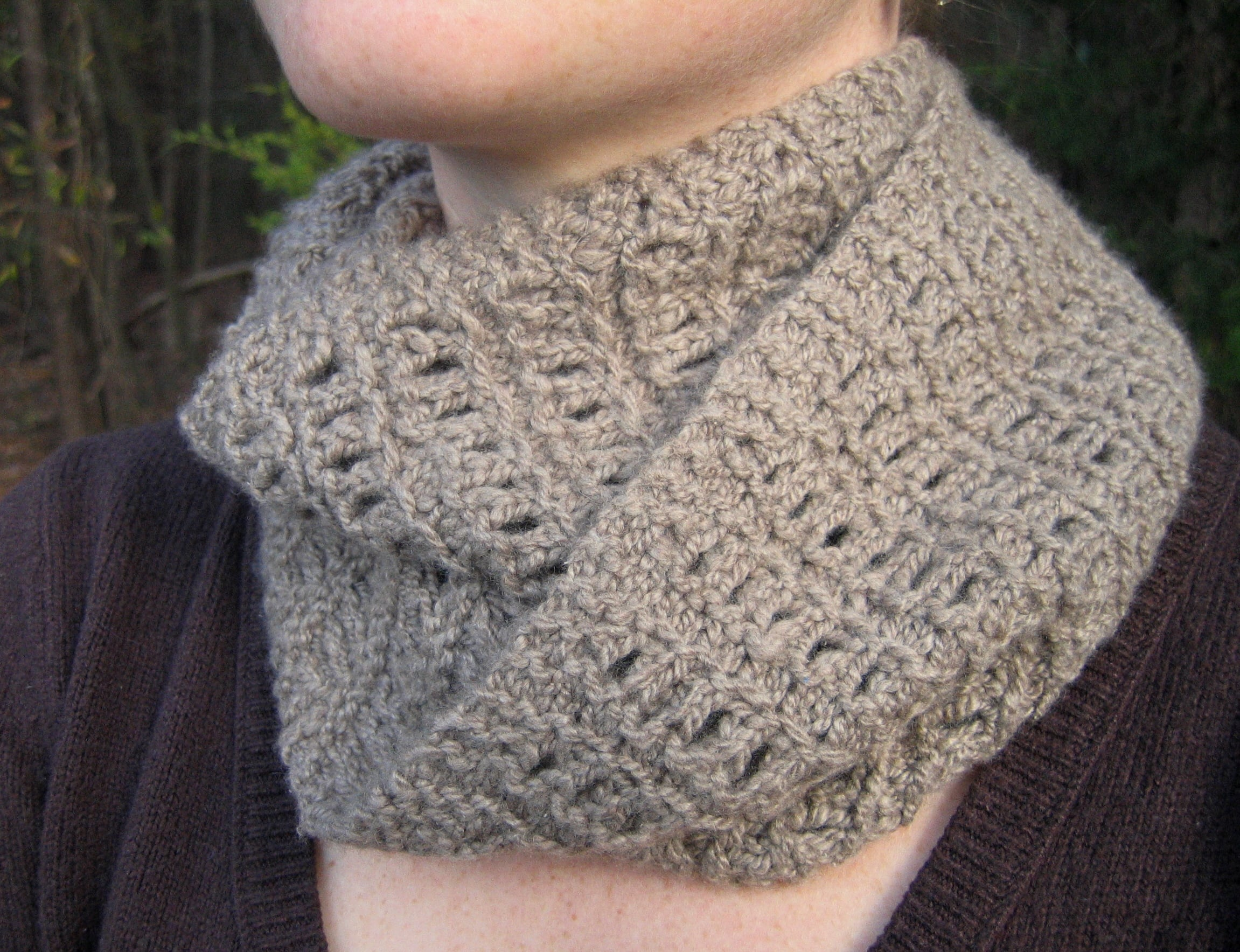 Abacus cowl by mary lou egan