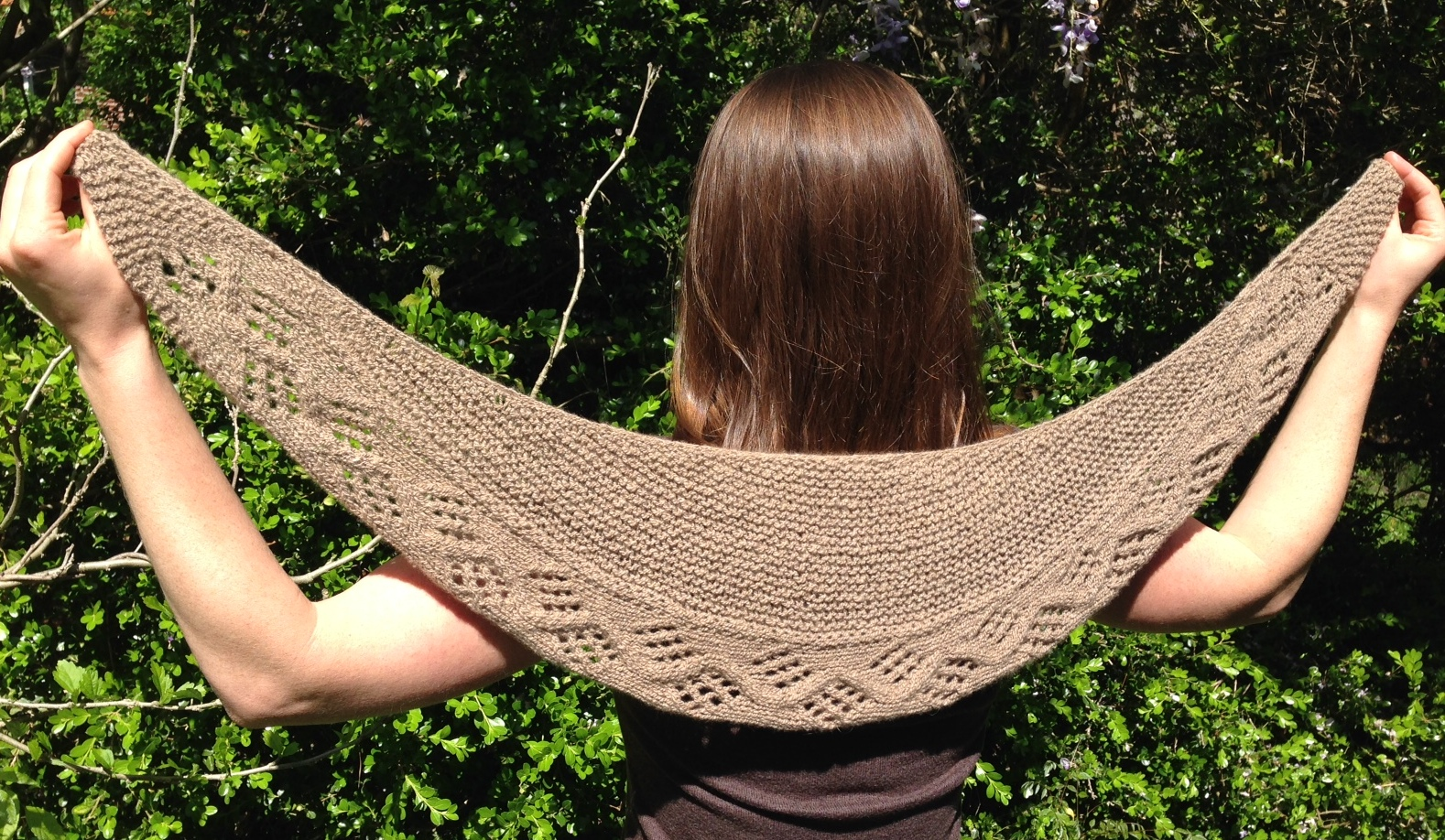 Lunar eclipse shawl by heather davis