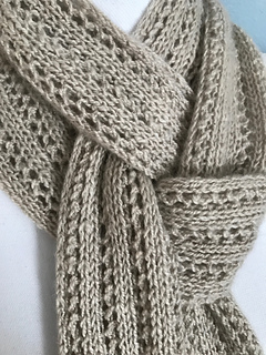 mountain ridge scarf by susan pemble