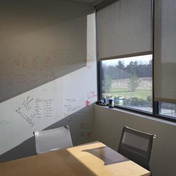 Sunlight and Whiteboard Walls