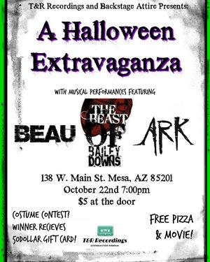 T&R Recordings Presents: A Halloween Extravaganza October 2016 Show!