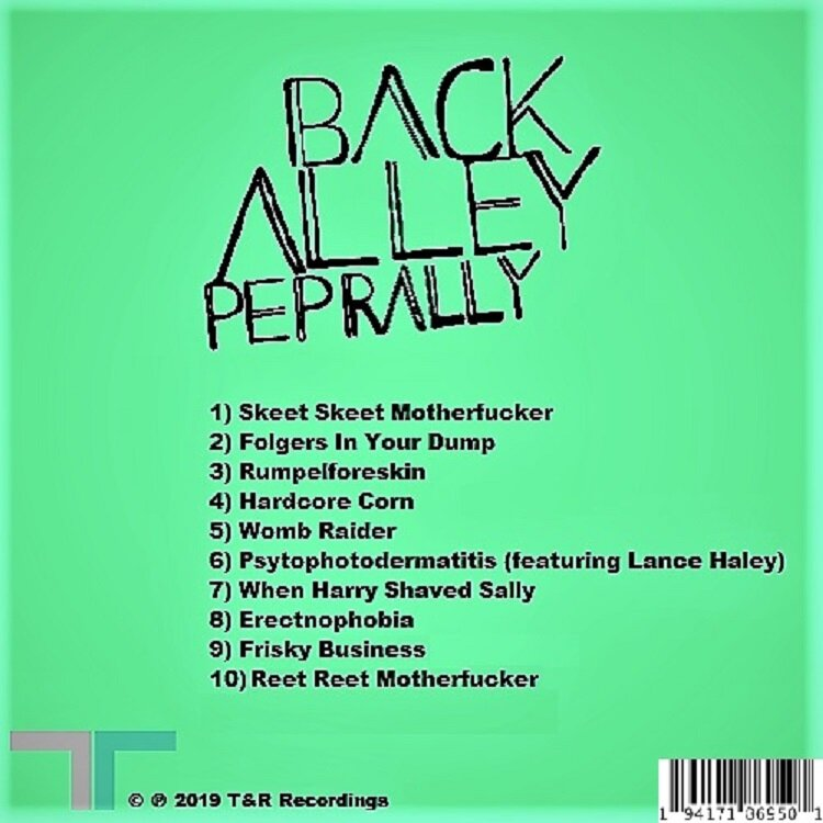 Back Alley Pep Rally Release: (Green Album) (Full Album Release) Back Cover