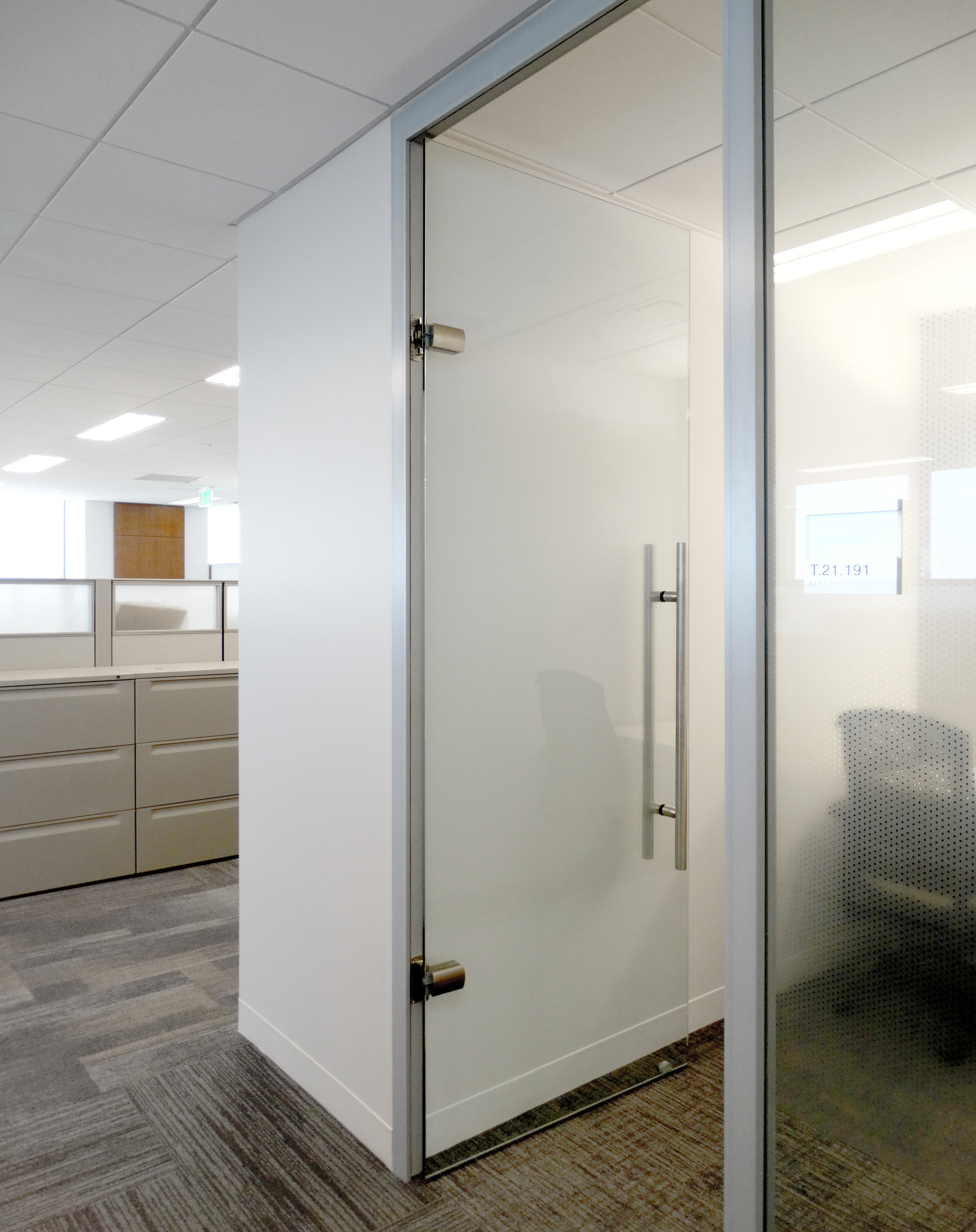 Litespace Aluminum Framed System Frameless Glass Swing Door - Spaceworks AI.jpg