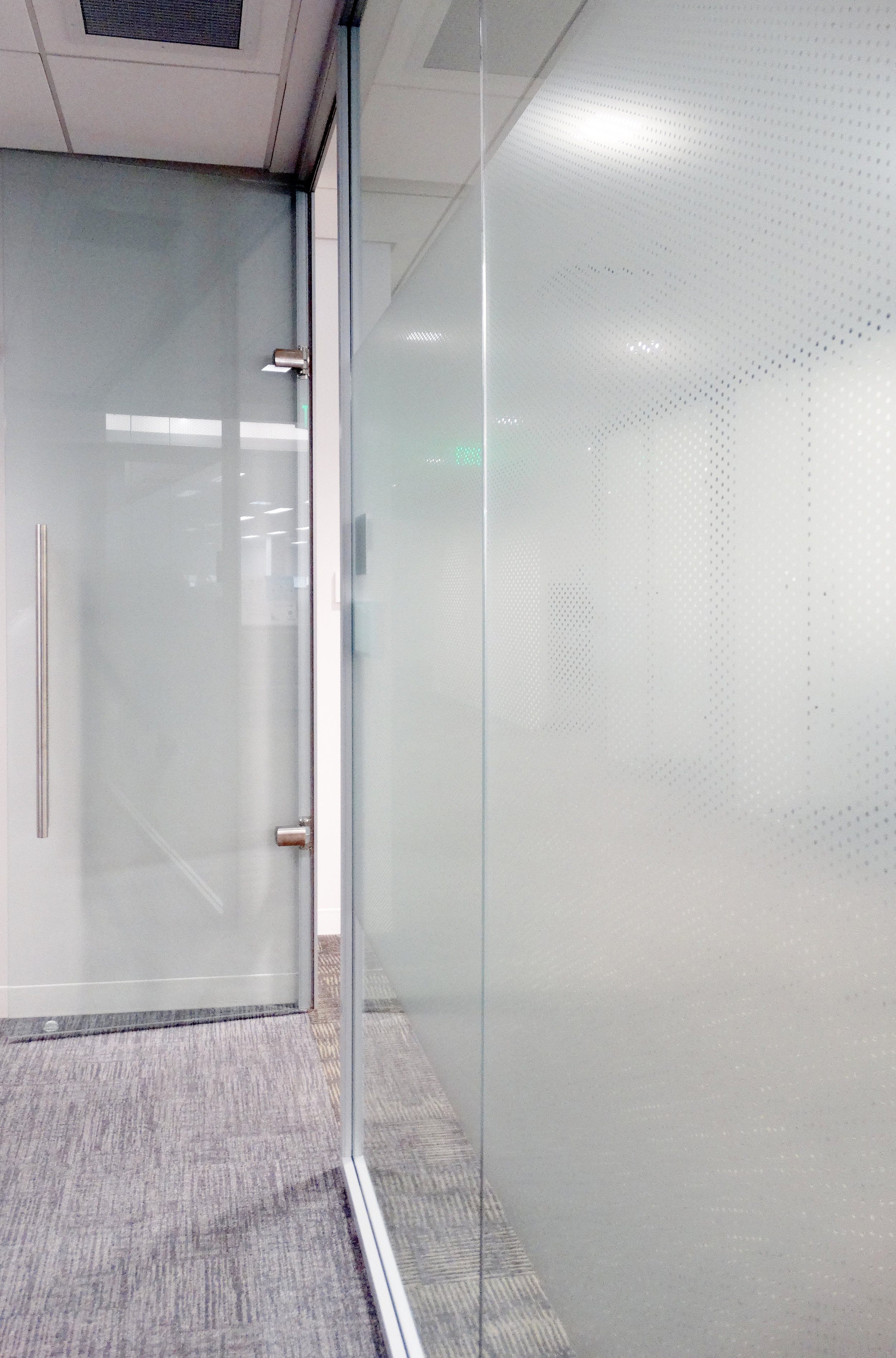 Litespace Demountable Frameless Glass Swing Door - Spaceworks AI.jpg