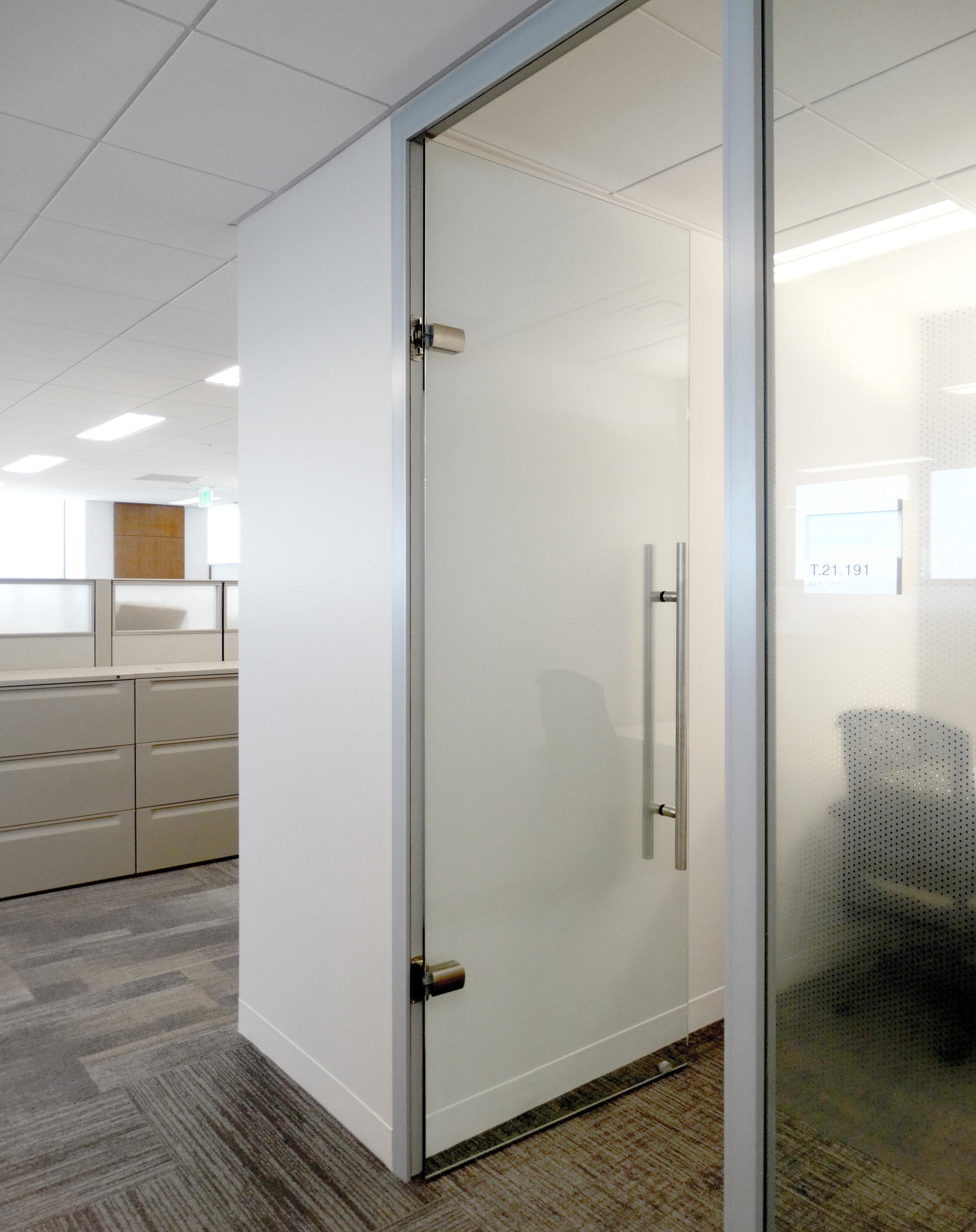 Litespace Aluminum Framed System Frameless Glass Swing Door - Spaceworks AI.jpg