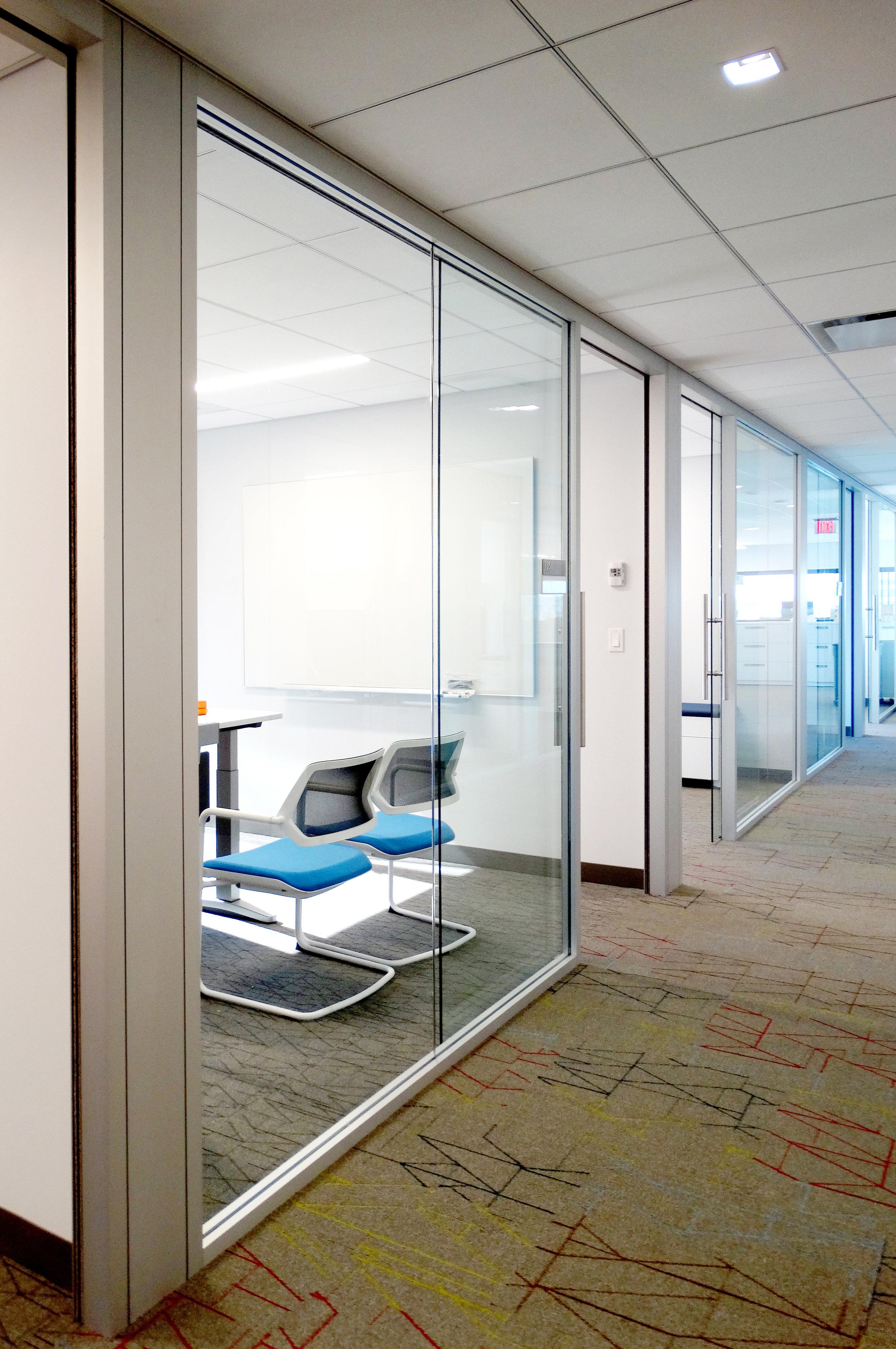 Litespace Demountable Glass Office Walls Sliding Door - Spaceworks AI.jpg
