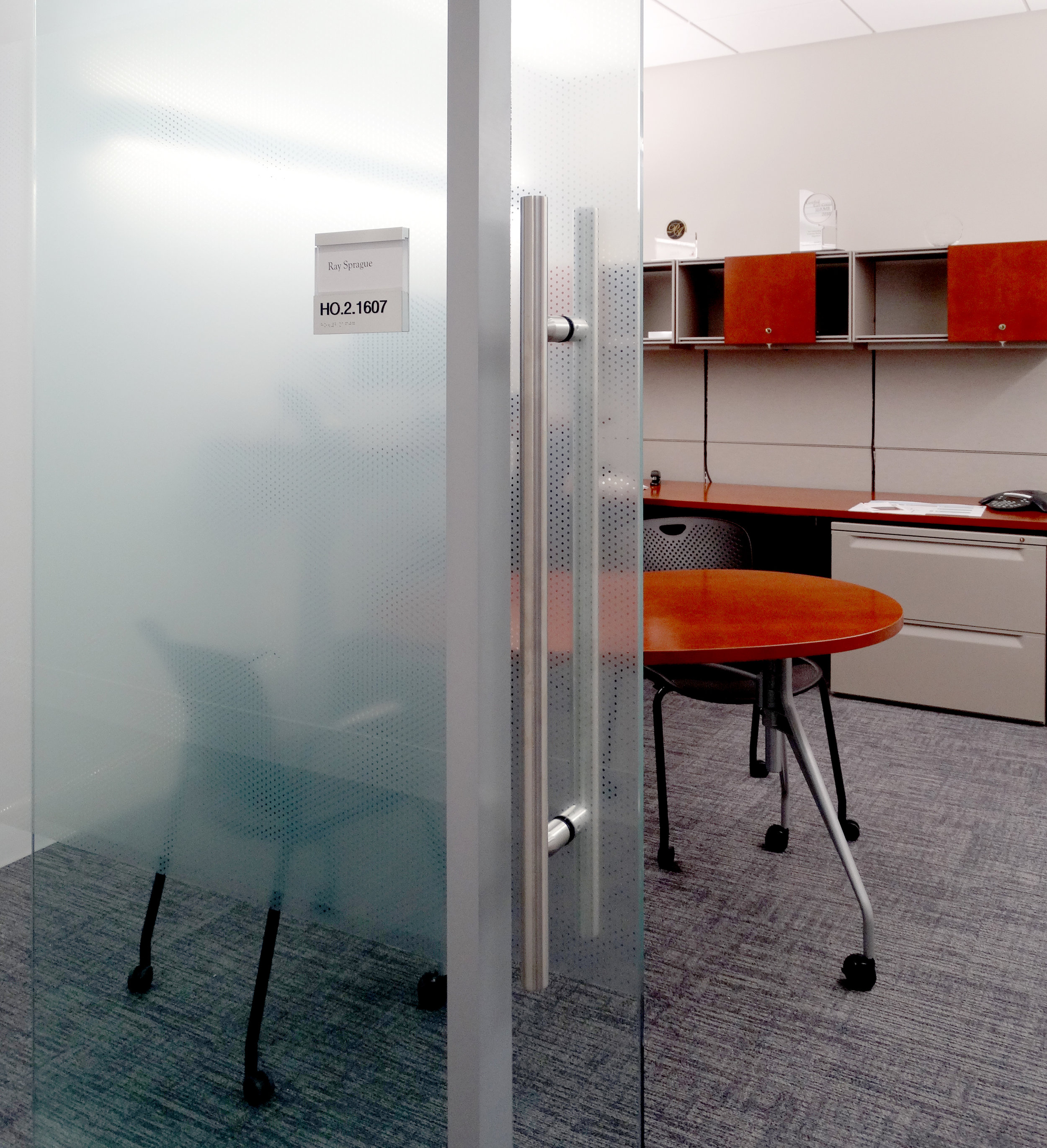 Litespace Frameless Glass Sliding Door Film Office Front - Spaceworks AI.jpg