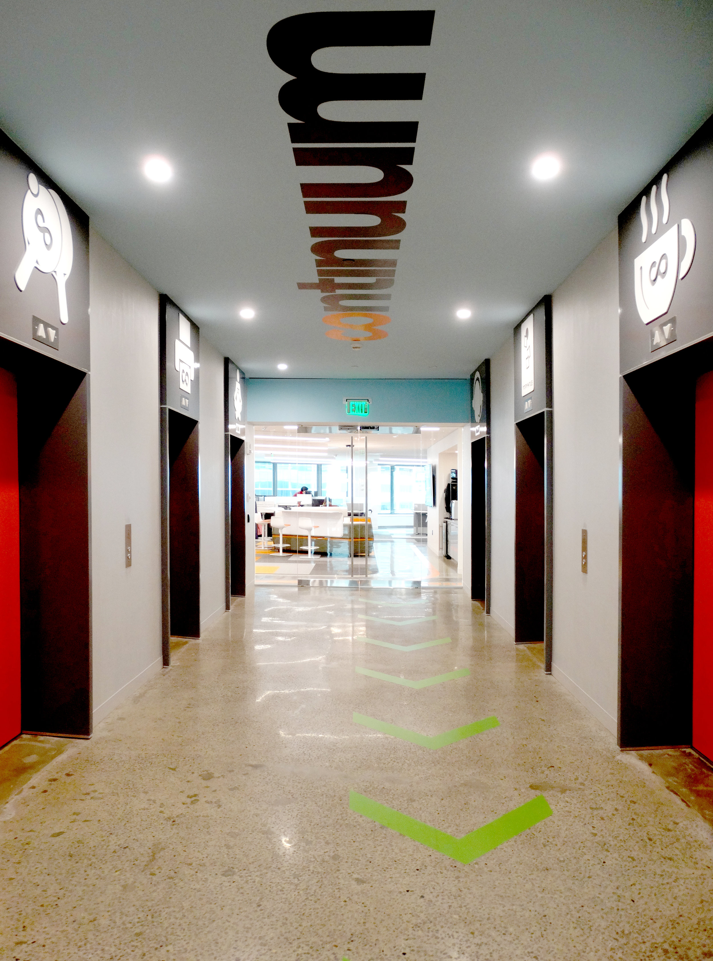 Illume Elevator Lobby Frameless Glass Doors - Spaceworks AI.jpg
