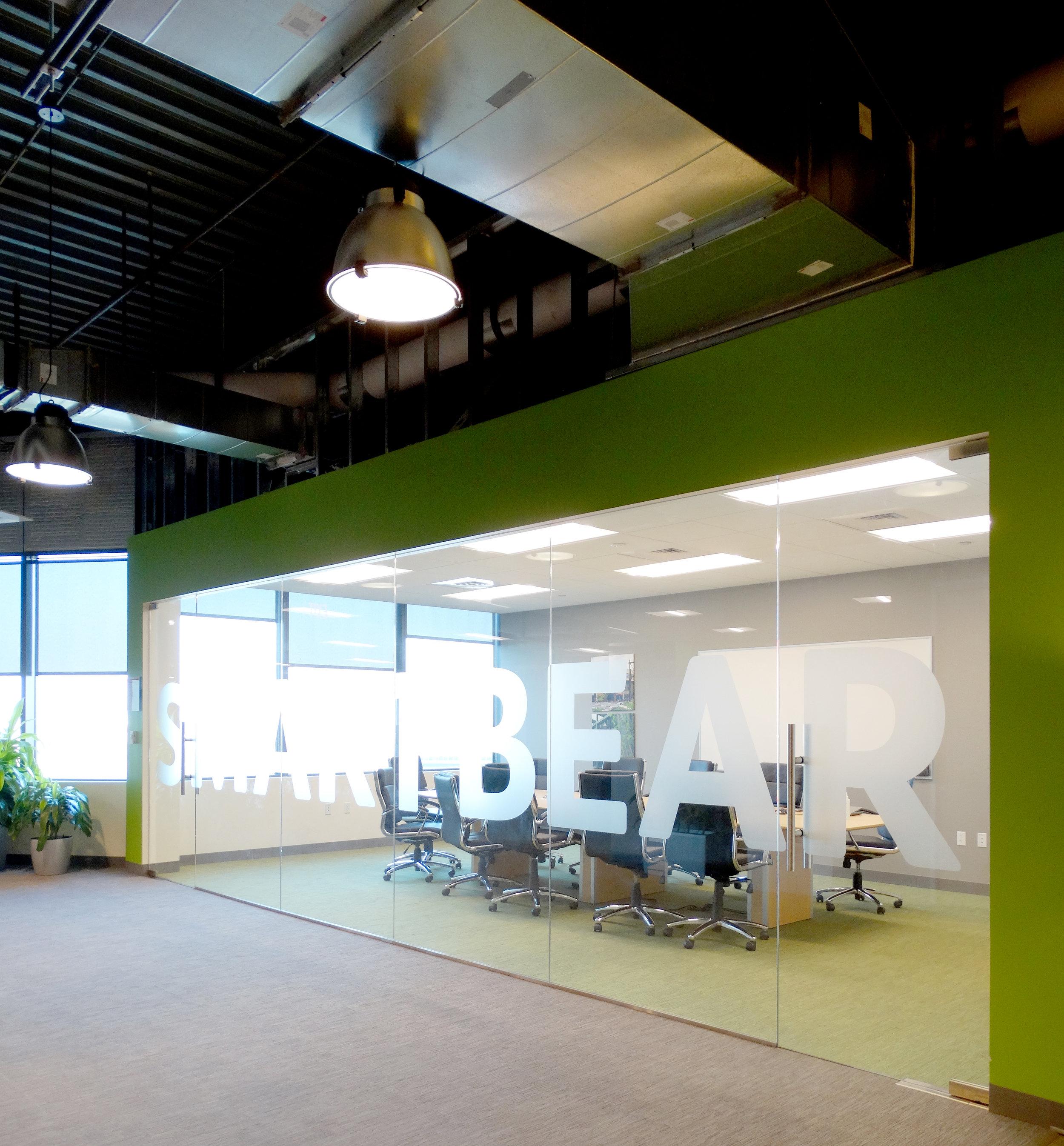 Illume Frameless Glass Conference Room Floor Closer Frameless Doors - Spaceworks AI.jpg