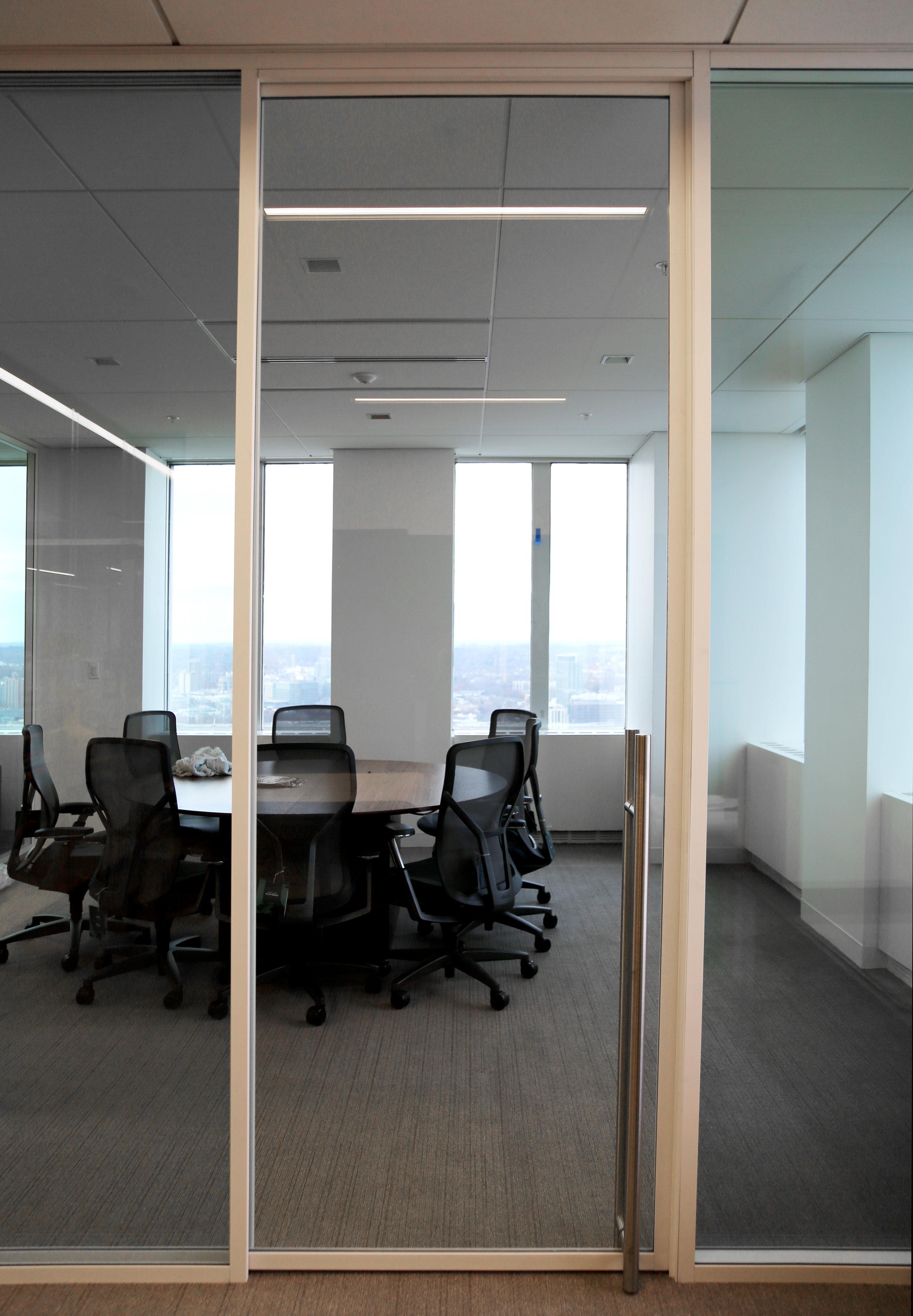 Modernus White Aluminum Aluminum Framed Sliding Glass Door - Spaceworks AI.jpg