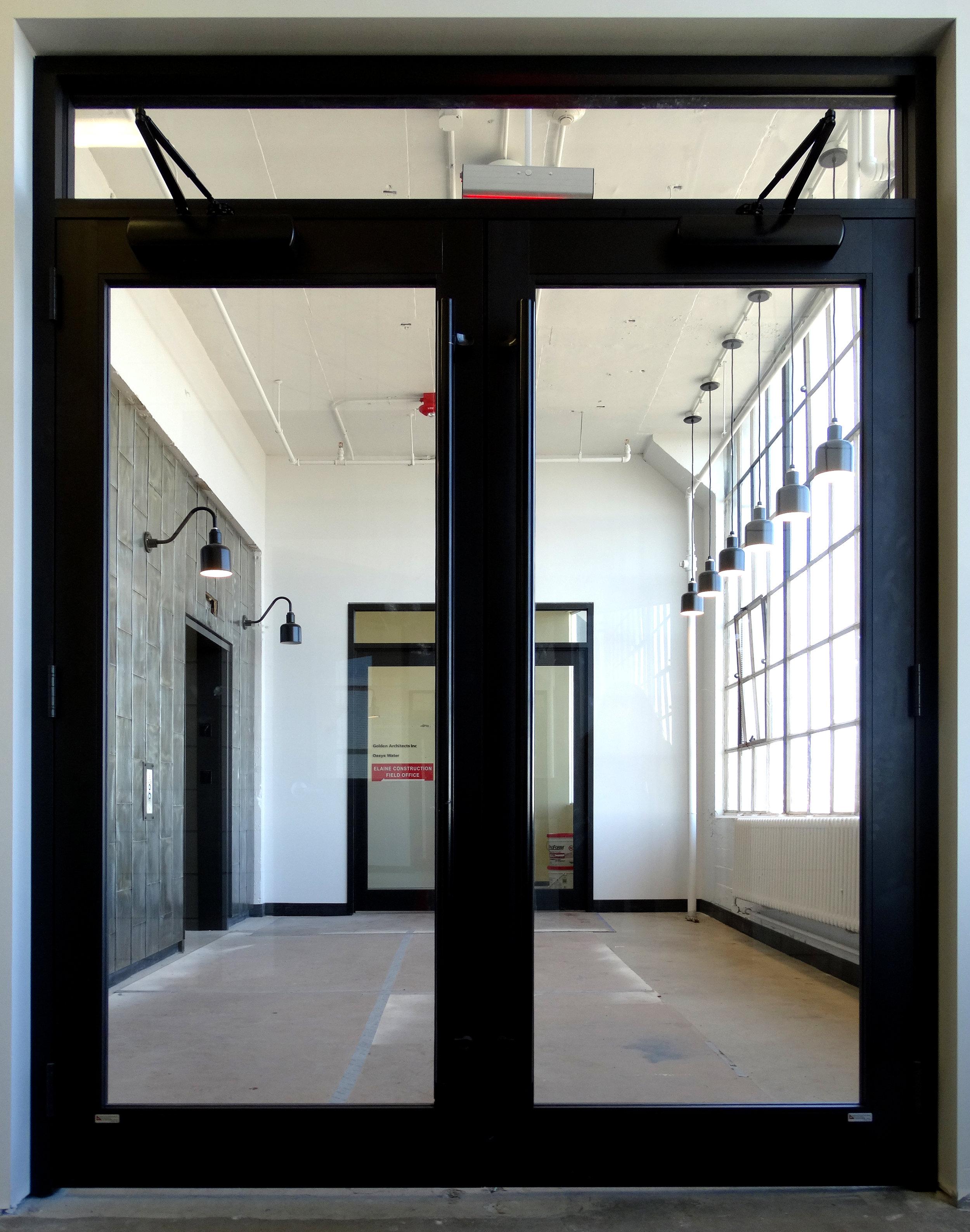 Encase Black Aluminum Framed Transom Entry Double Door - Spaceworks AI.jpg