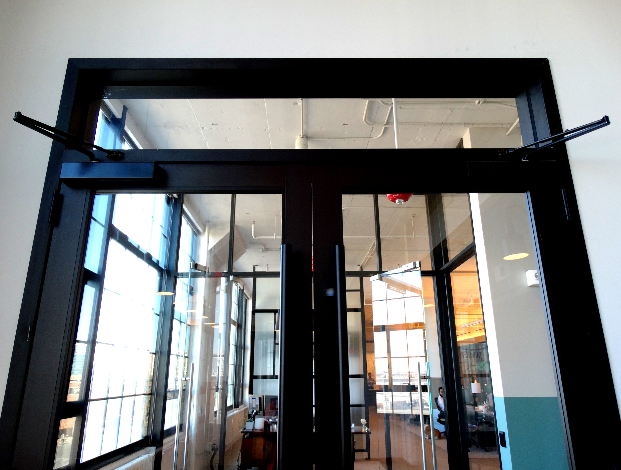 Encase Black Anodized Aluminum Framed Door Glass Transom - Spaceworks AI.jpg