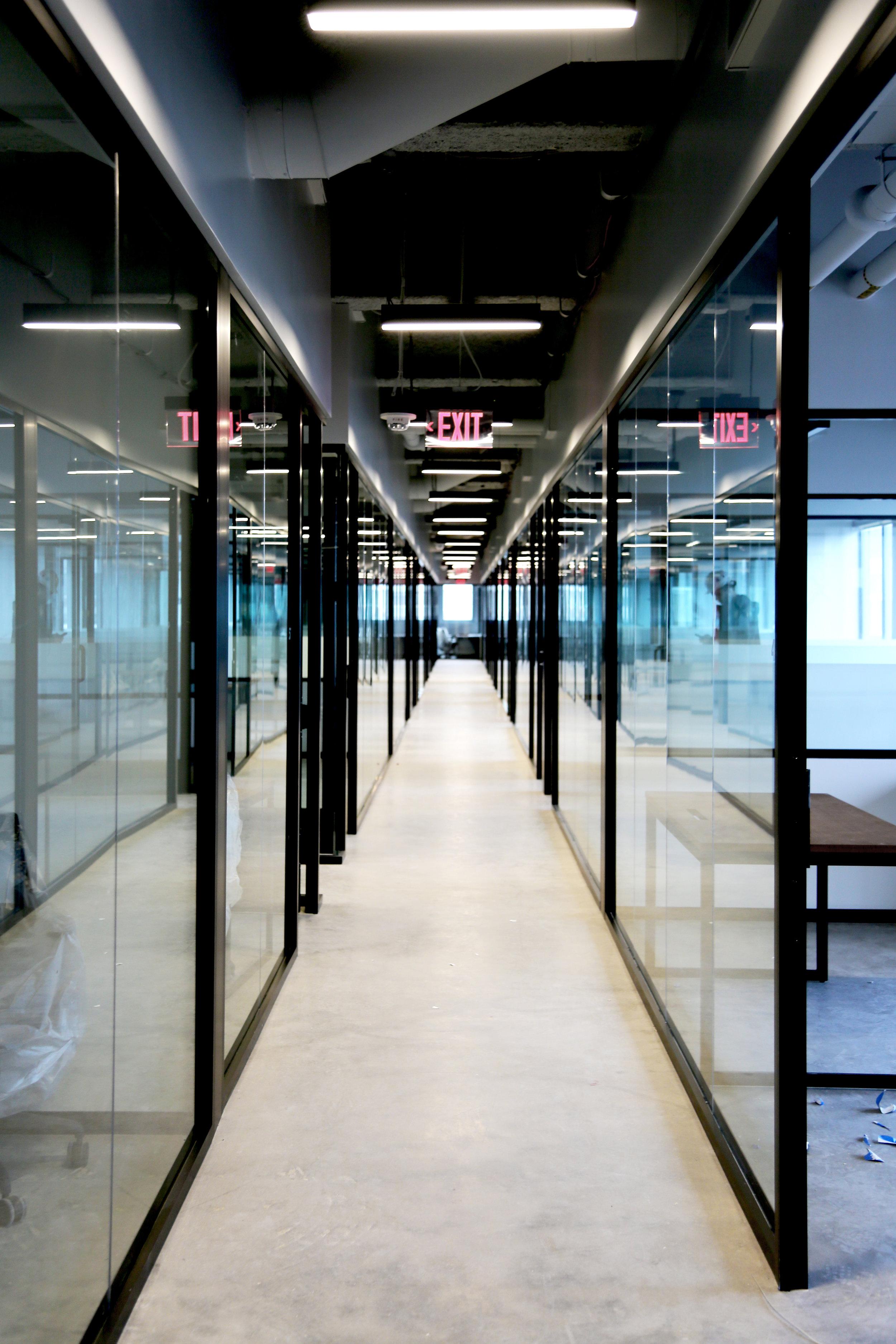 Litespace Black Framed Glass Hallway - Spaceworks AI.jpg