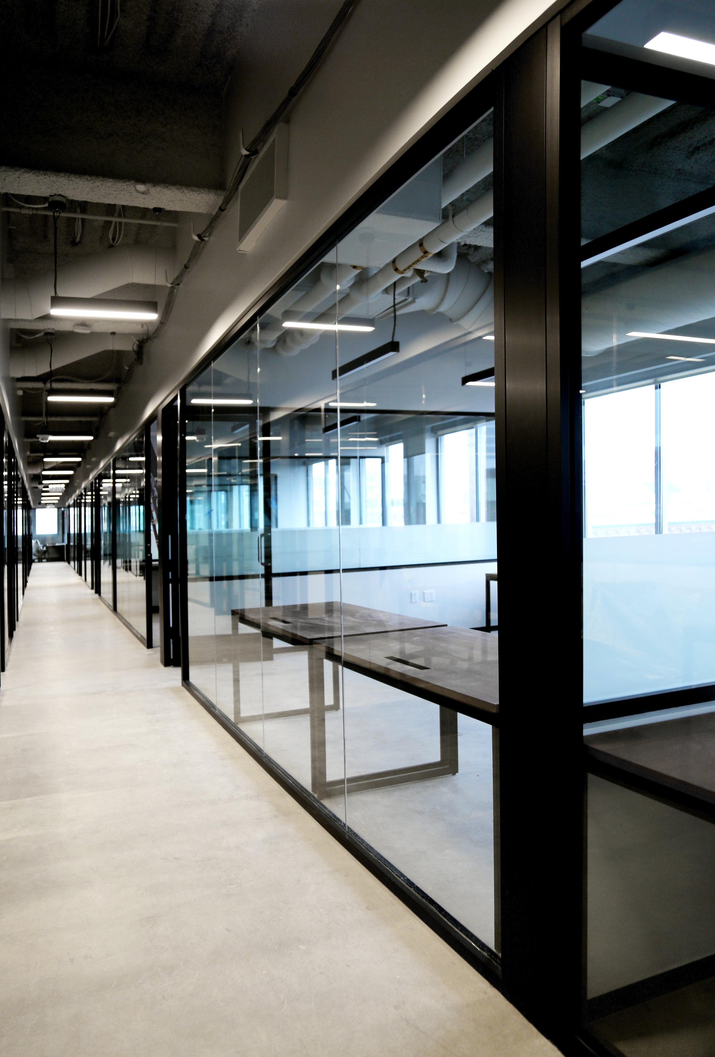 Litespace Black Aluminum Framed Glazing - Spaceworks AI.jpg