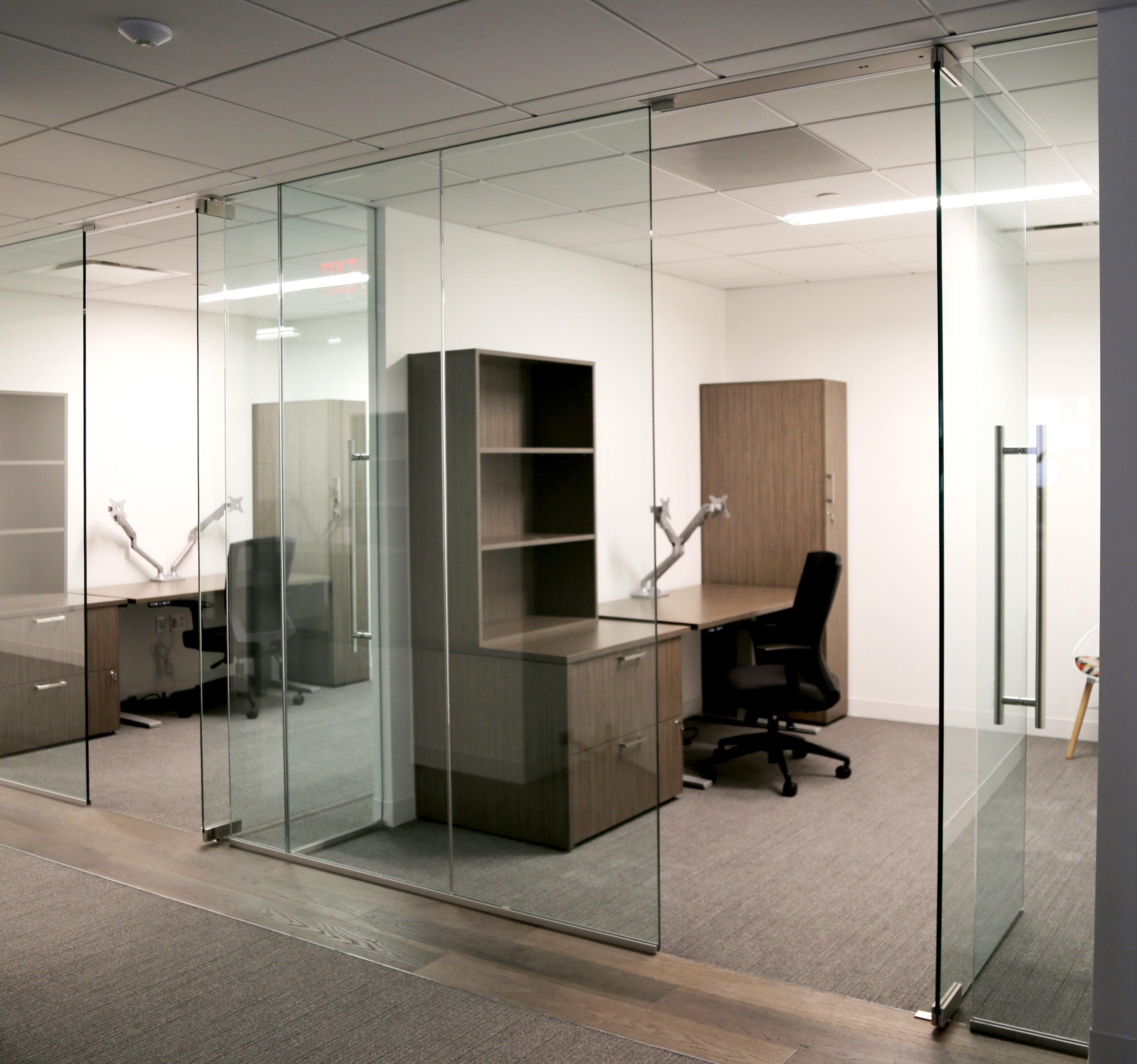 Illume Frameless Glass Office Pivot Doors - Spaceworks AI.jpg