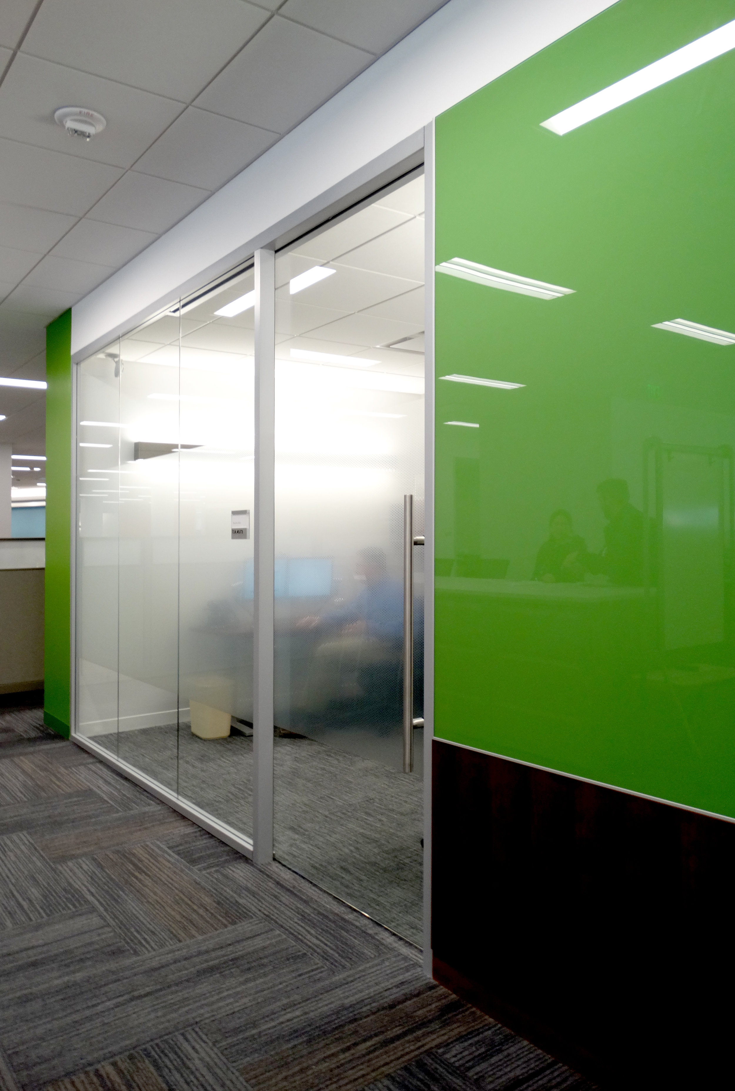 Green Glass Millwork Marker Board Office Wall - Spaceworks AI.jpg