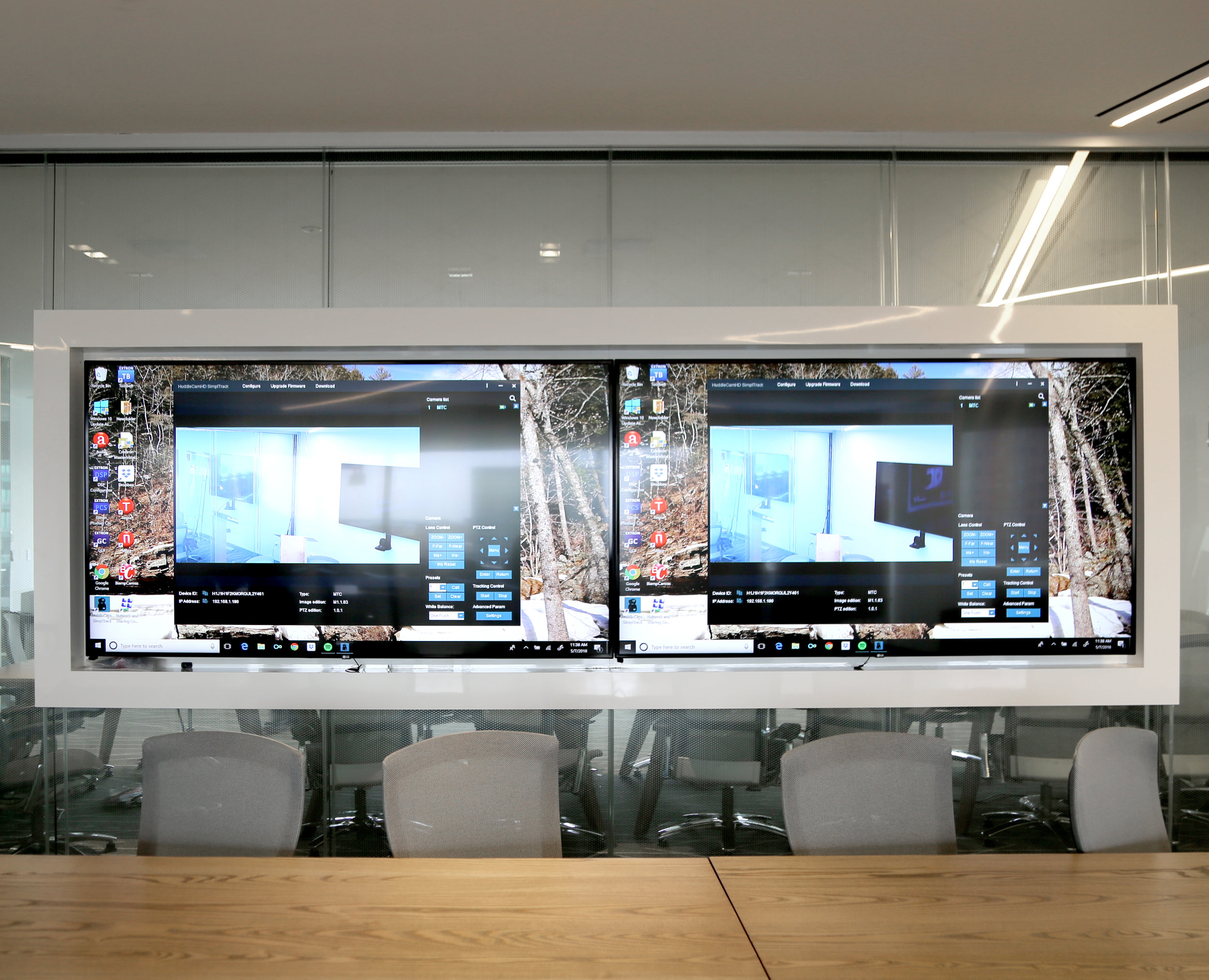 Litespace Technology Wall Mounted Television Millwork Mirror Glazing - Spaceworks AI.jpg