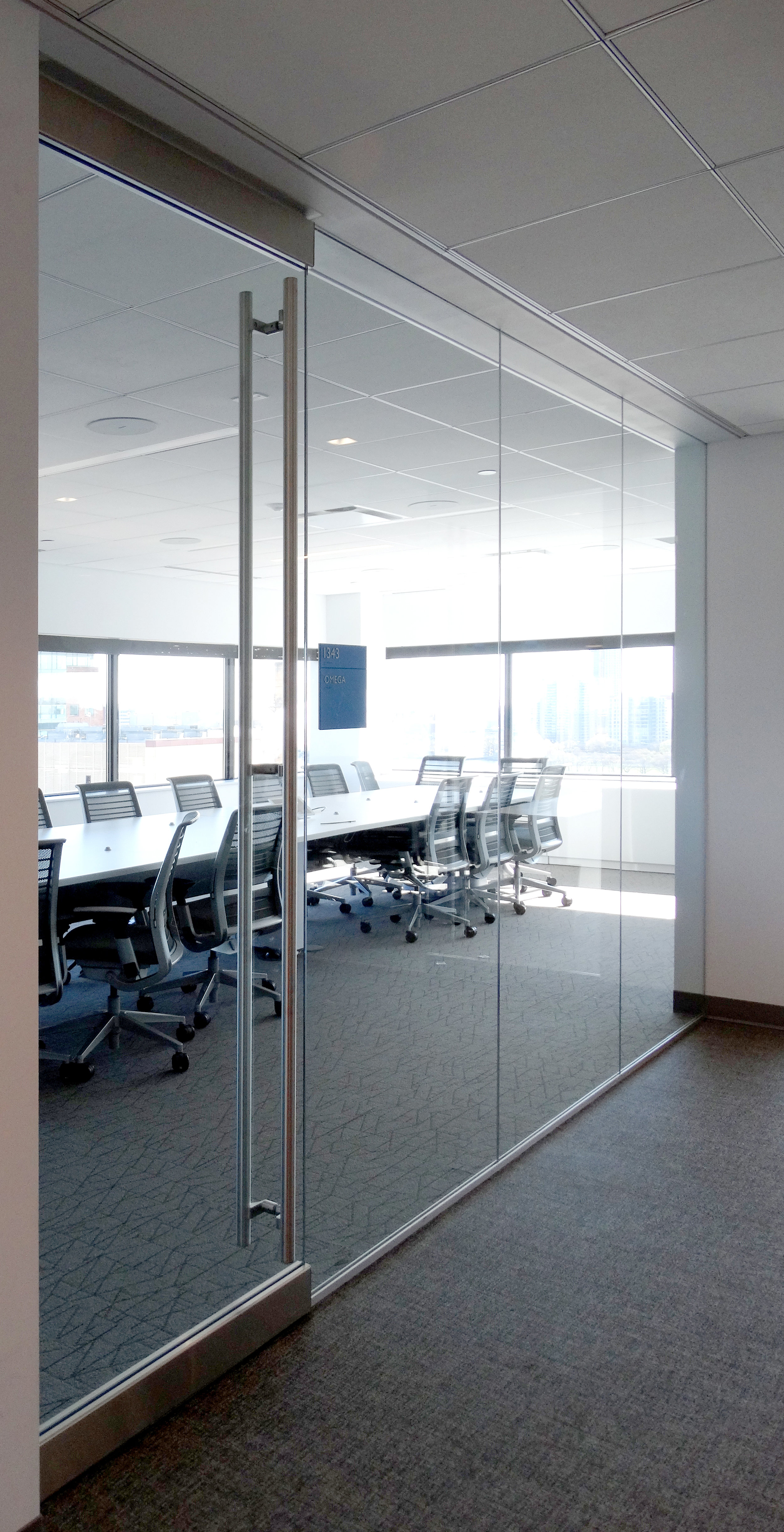 Illume Frameless Glass Conference Room Frameless Glass Rail Door - Spaceworks AI.jpg