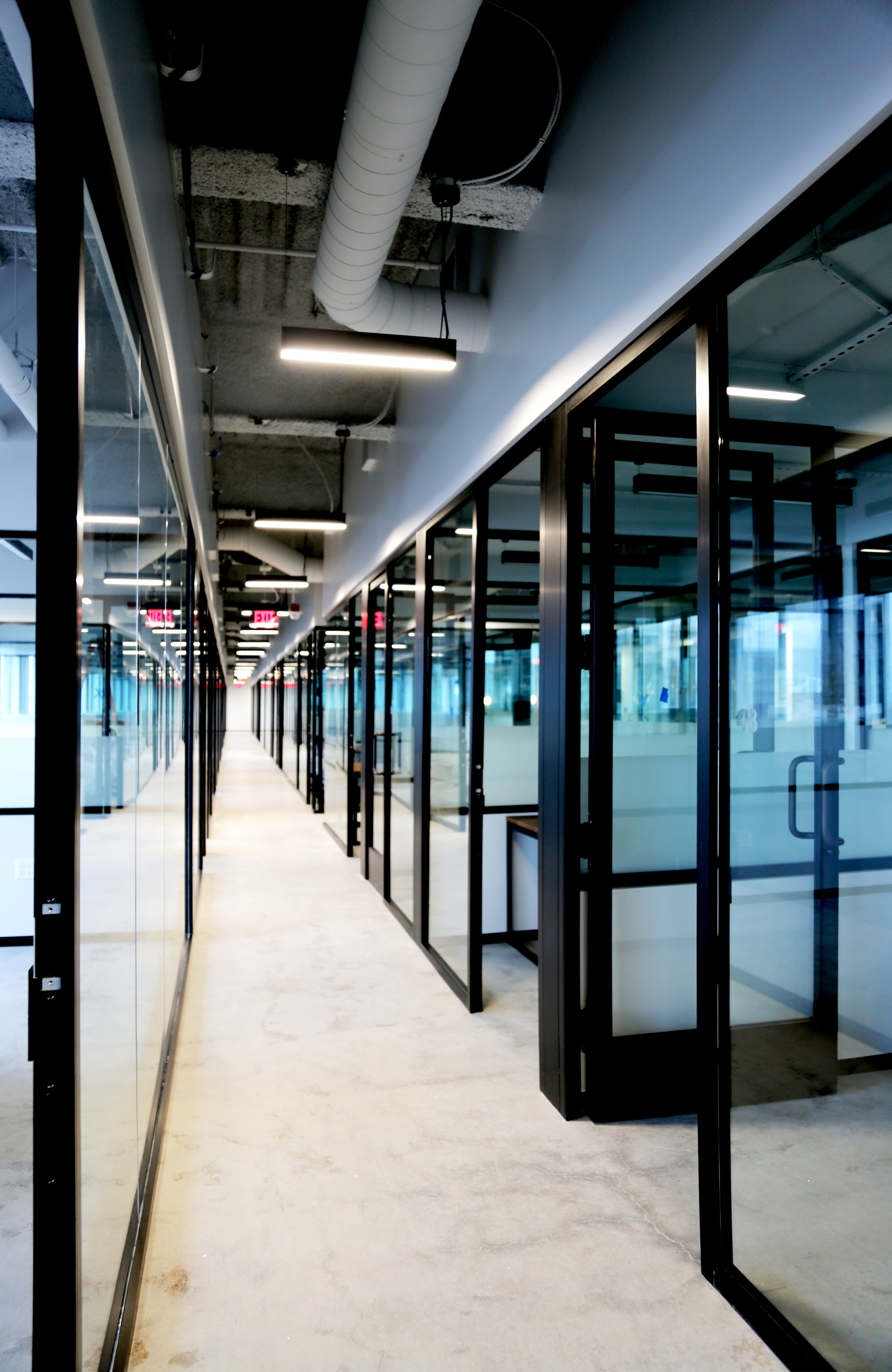 Litespace Black Aluminum Glass Doors - Spaceworks AI.jpg
