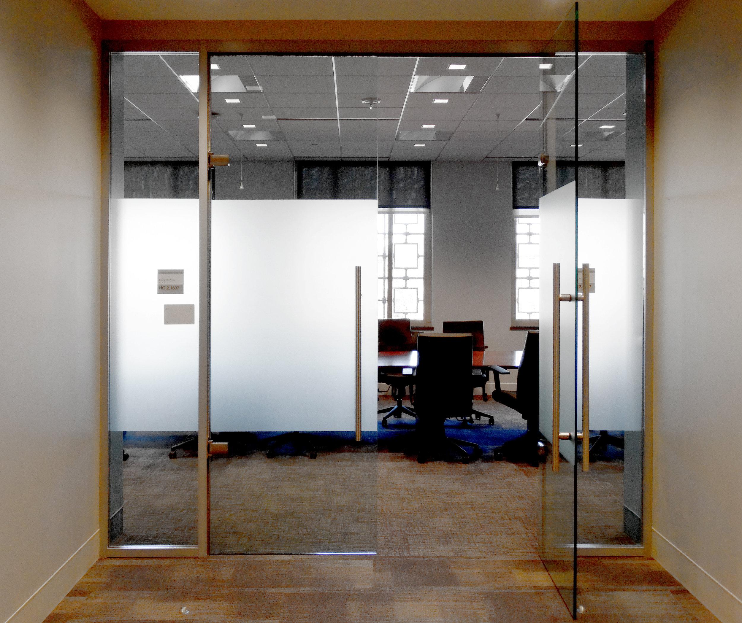 Litespace Frameless Glass Double Door Glass Wall - Spaceworks AI.jpg