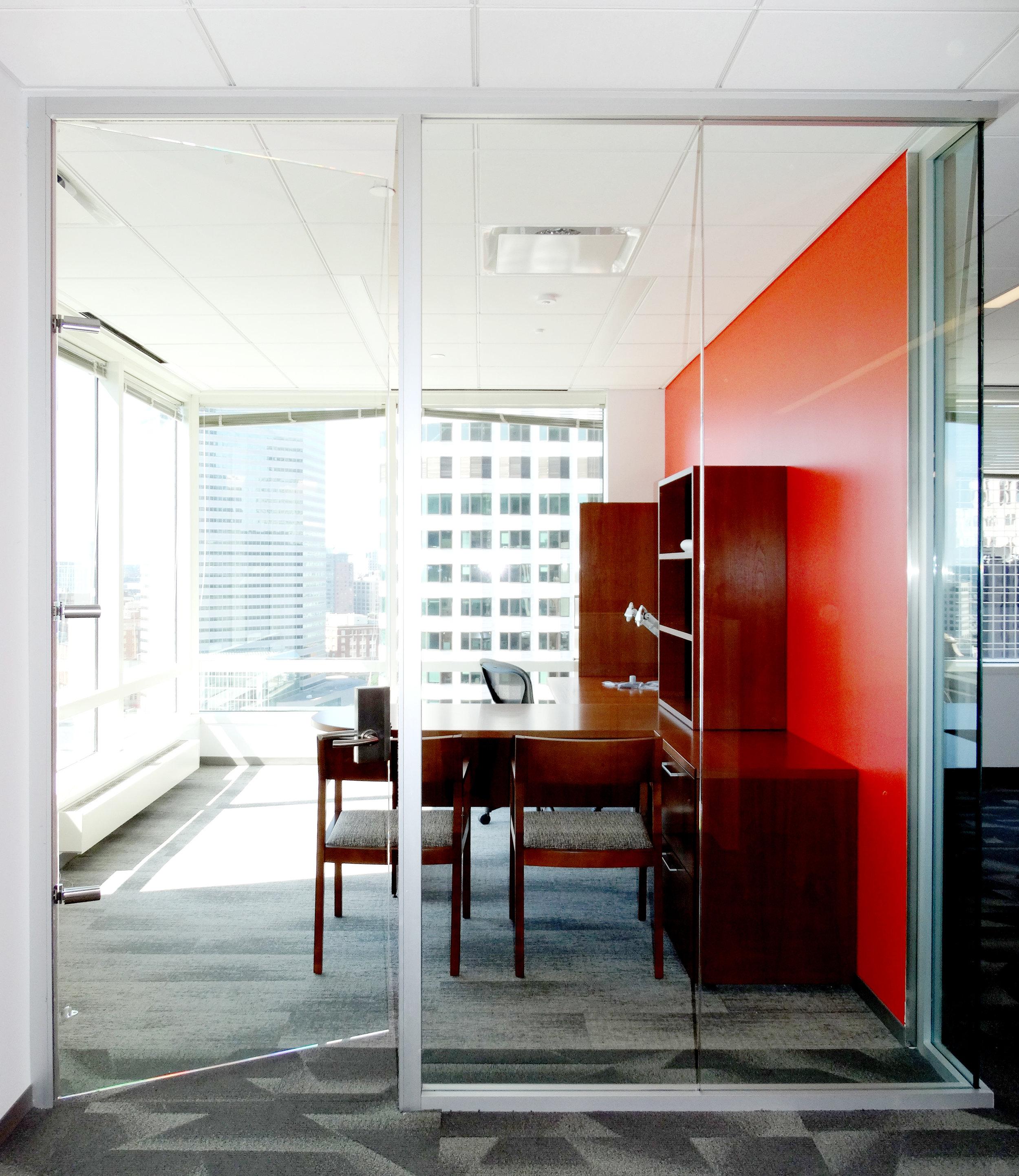 Litespace Frameless Glass Office Aluminum Demountable System Narrow - Spaceworks AI.jpg