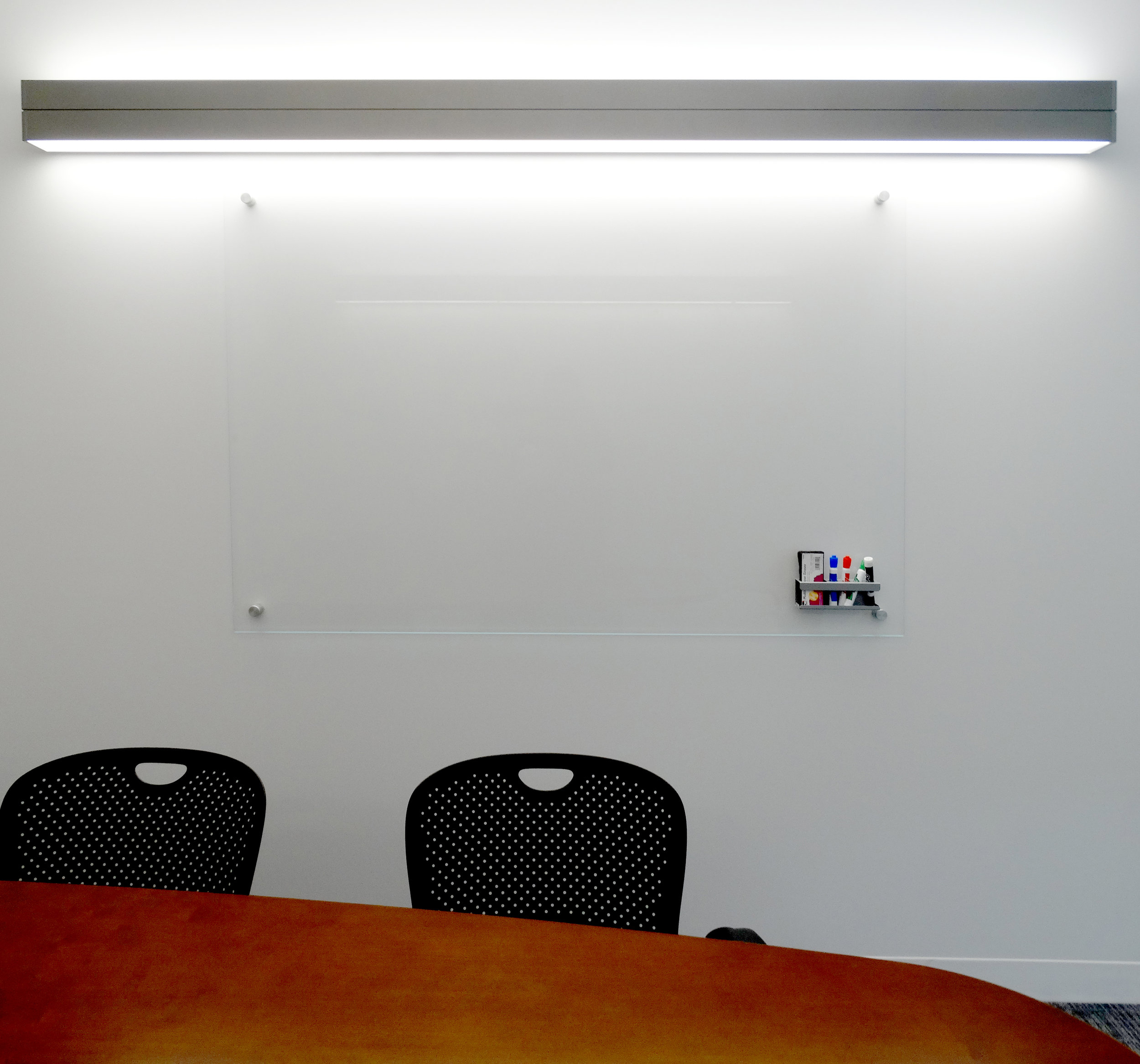 Clear Glass Marker Board Standoffs Office Wall - Spaceworks AI.jpg