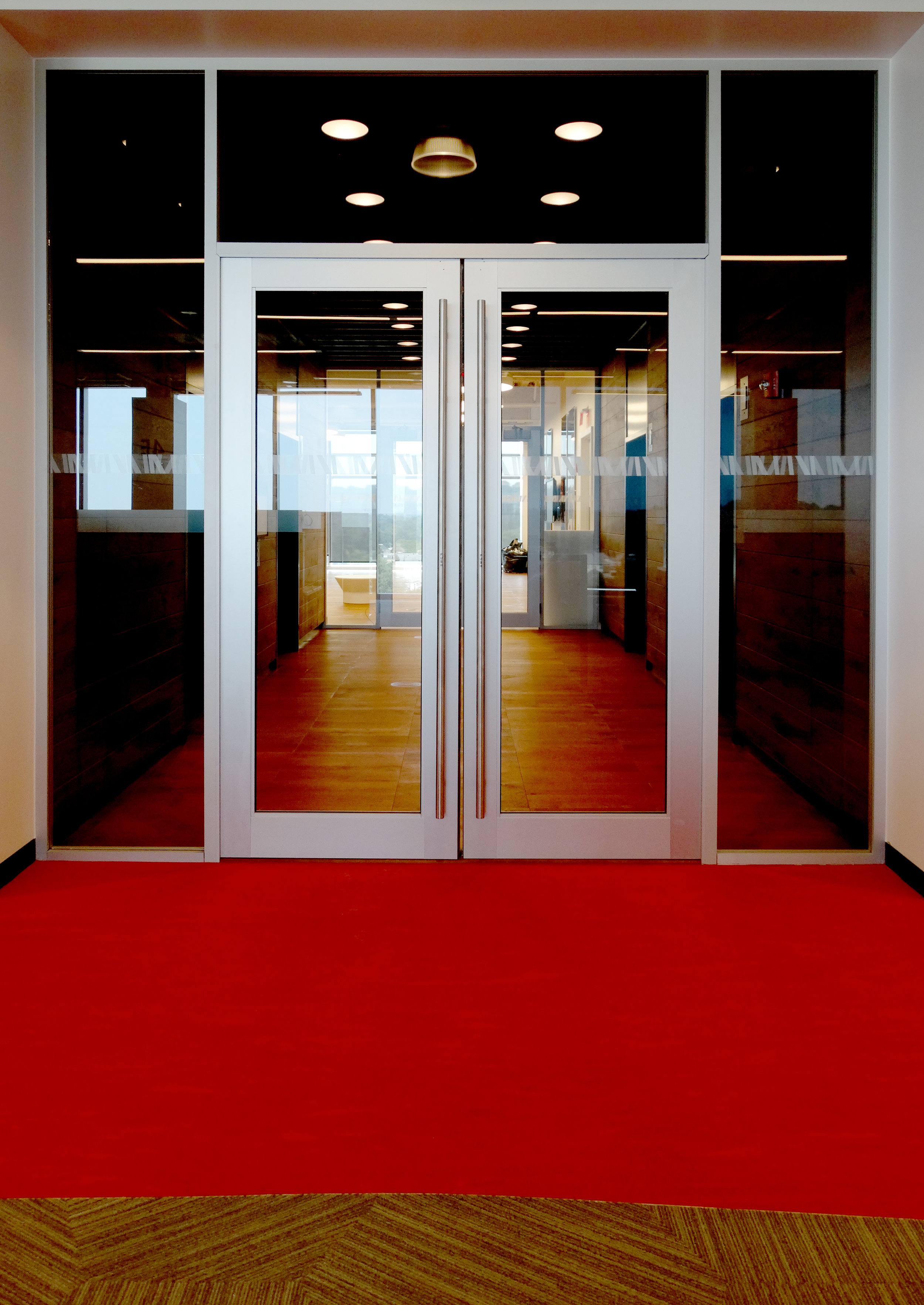 Litespace Glass Transom with Aluminum Framed Doors - Spaceworks AI.jpg
