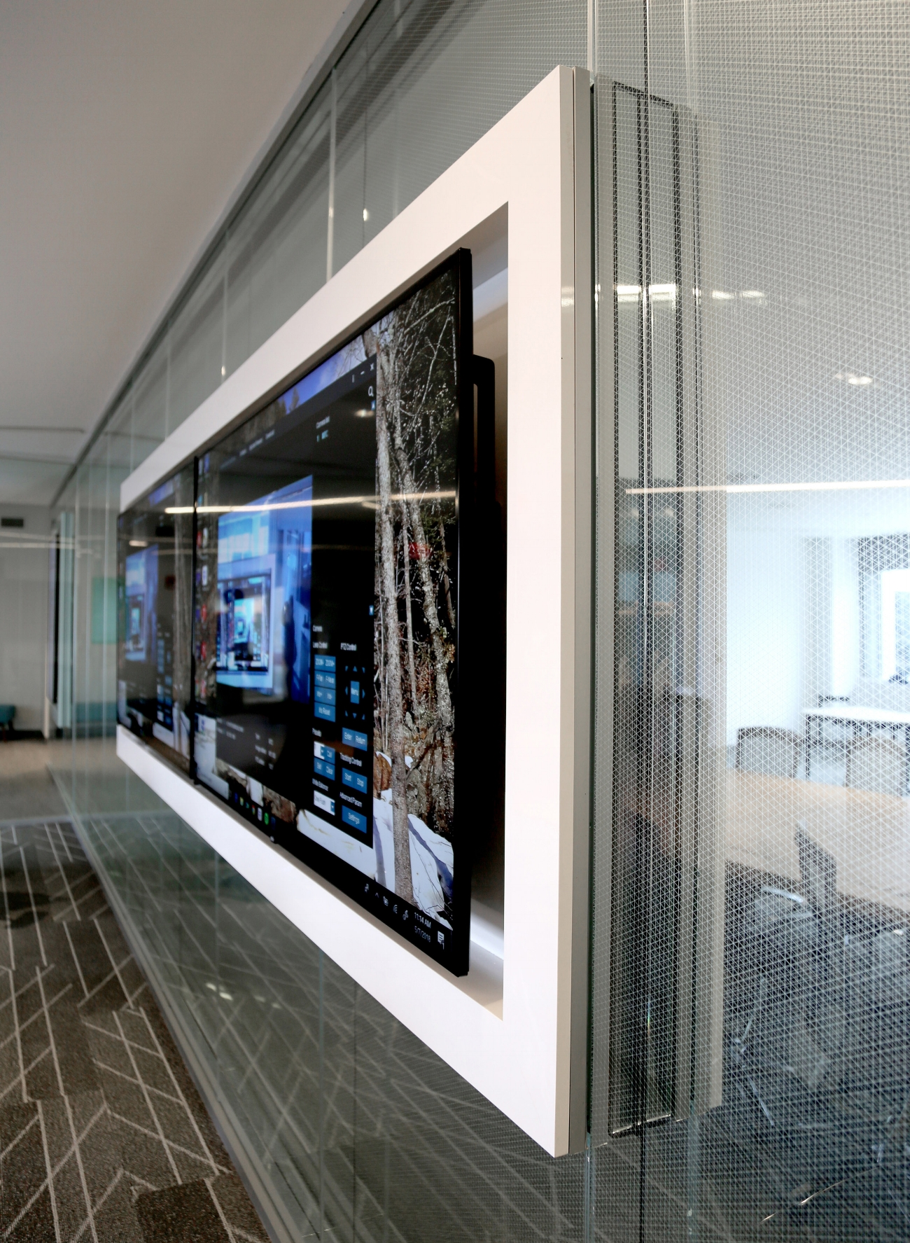01 Litespace Specialty Glass Mirror Integrated Millwork - Spaceworks AI.jpg