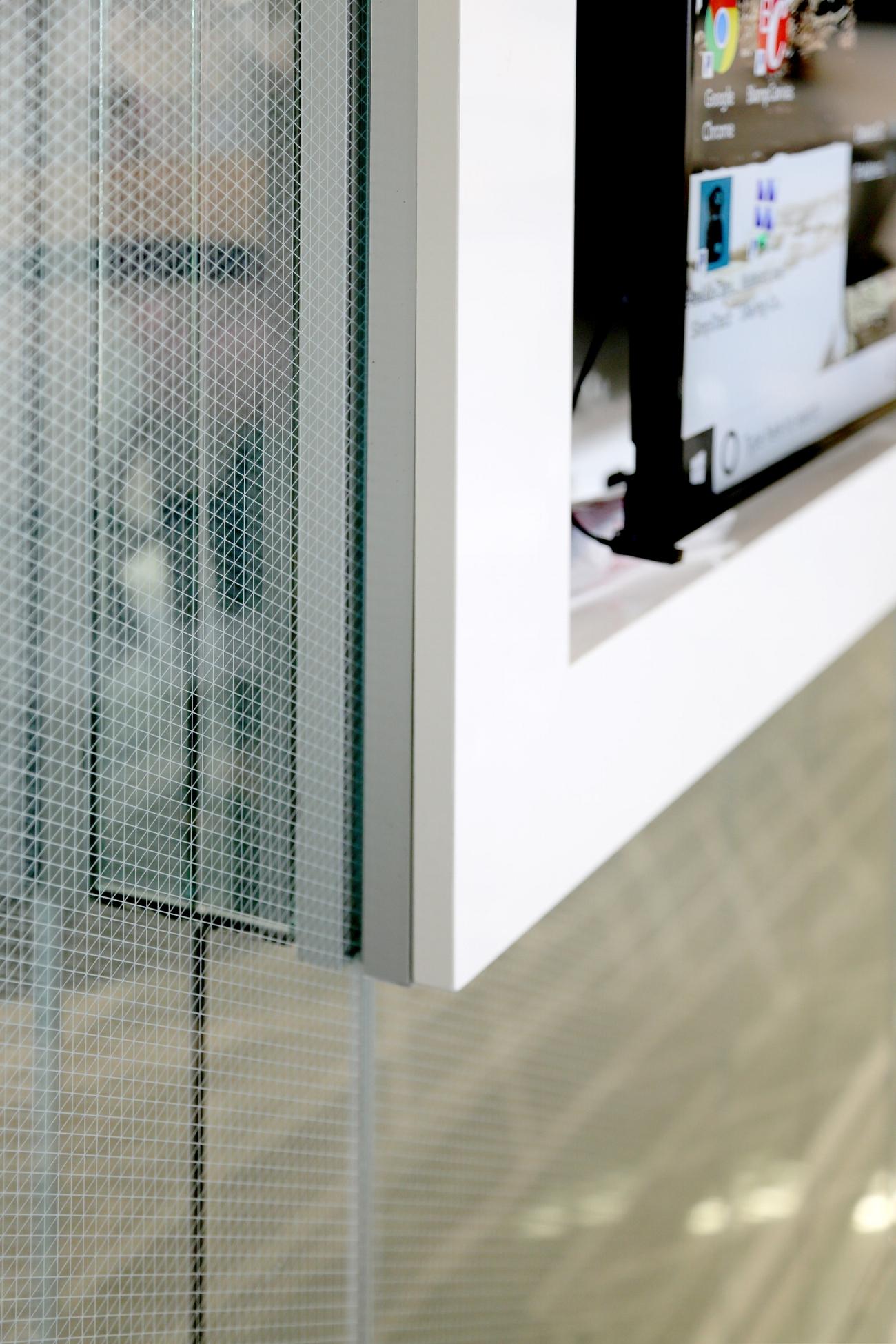 02 Litespace Specialty Glass Mirror Custom Pattern Etched Glazing - Spaceworks AI.jpg
