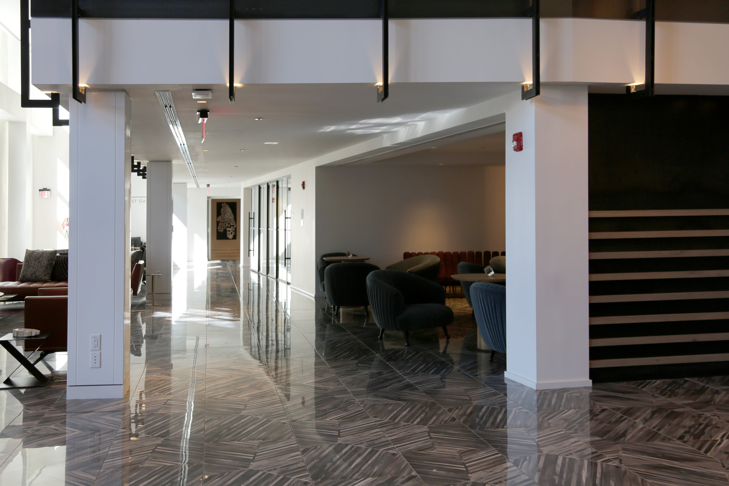High-End Residential Building Lobby Glass Wall System - Spaceworks AI.jpg