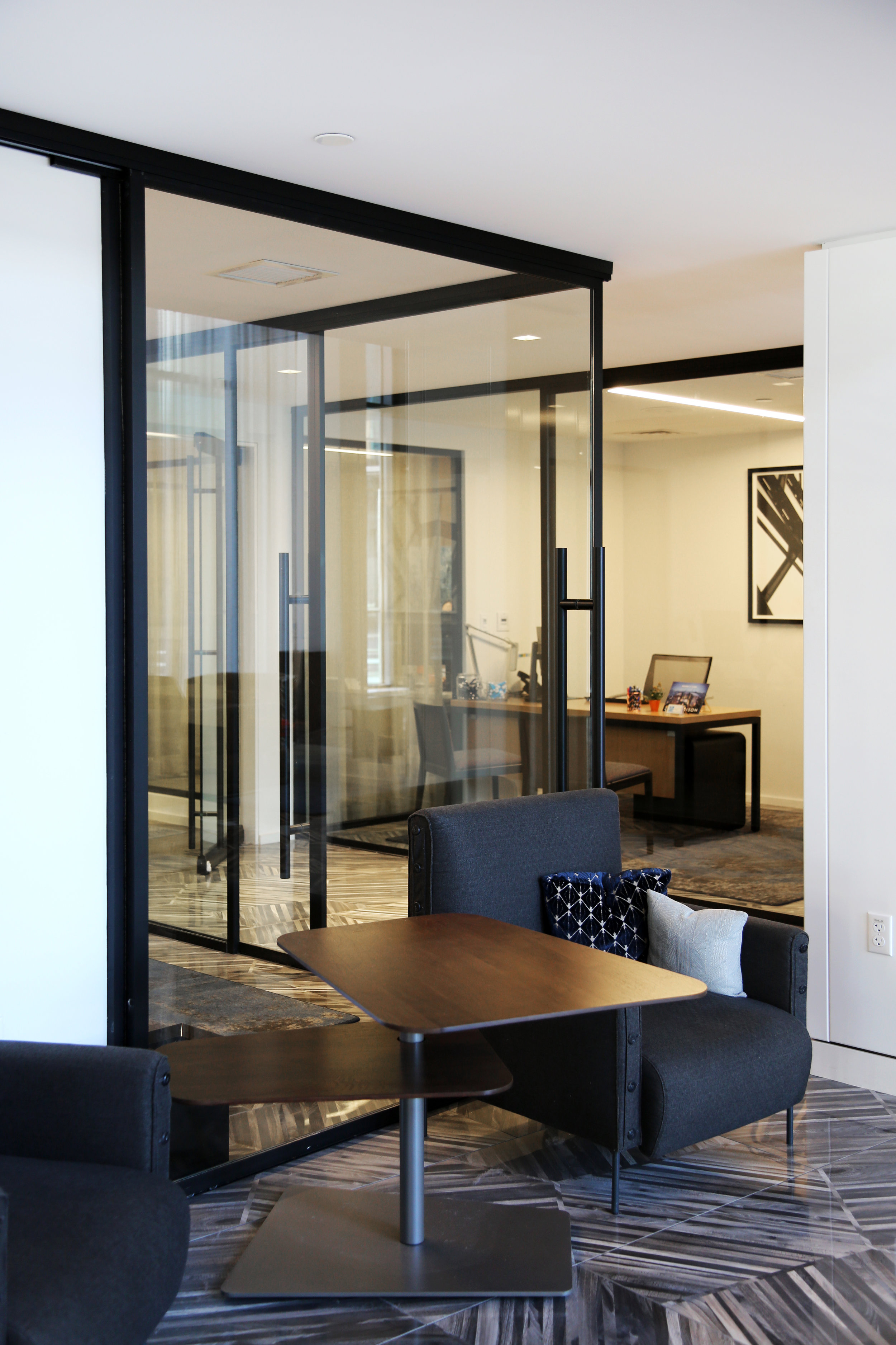 Modernus Black Anodized Aluminum Demountable Framing System - Spaceworks AI.jpg