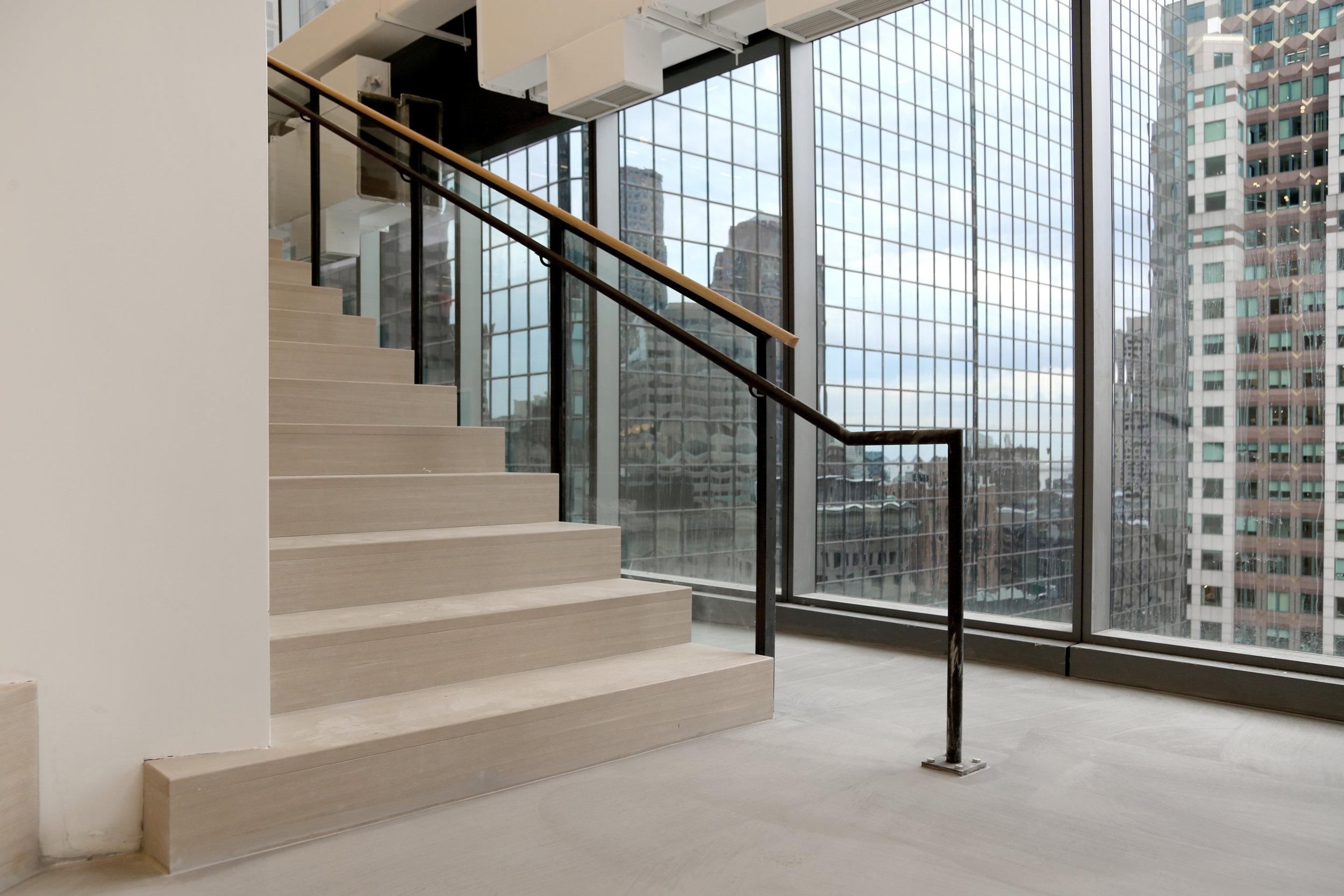 Black Steel Metal Stair Railing Glass - Spaceworks AI.jpg