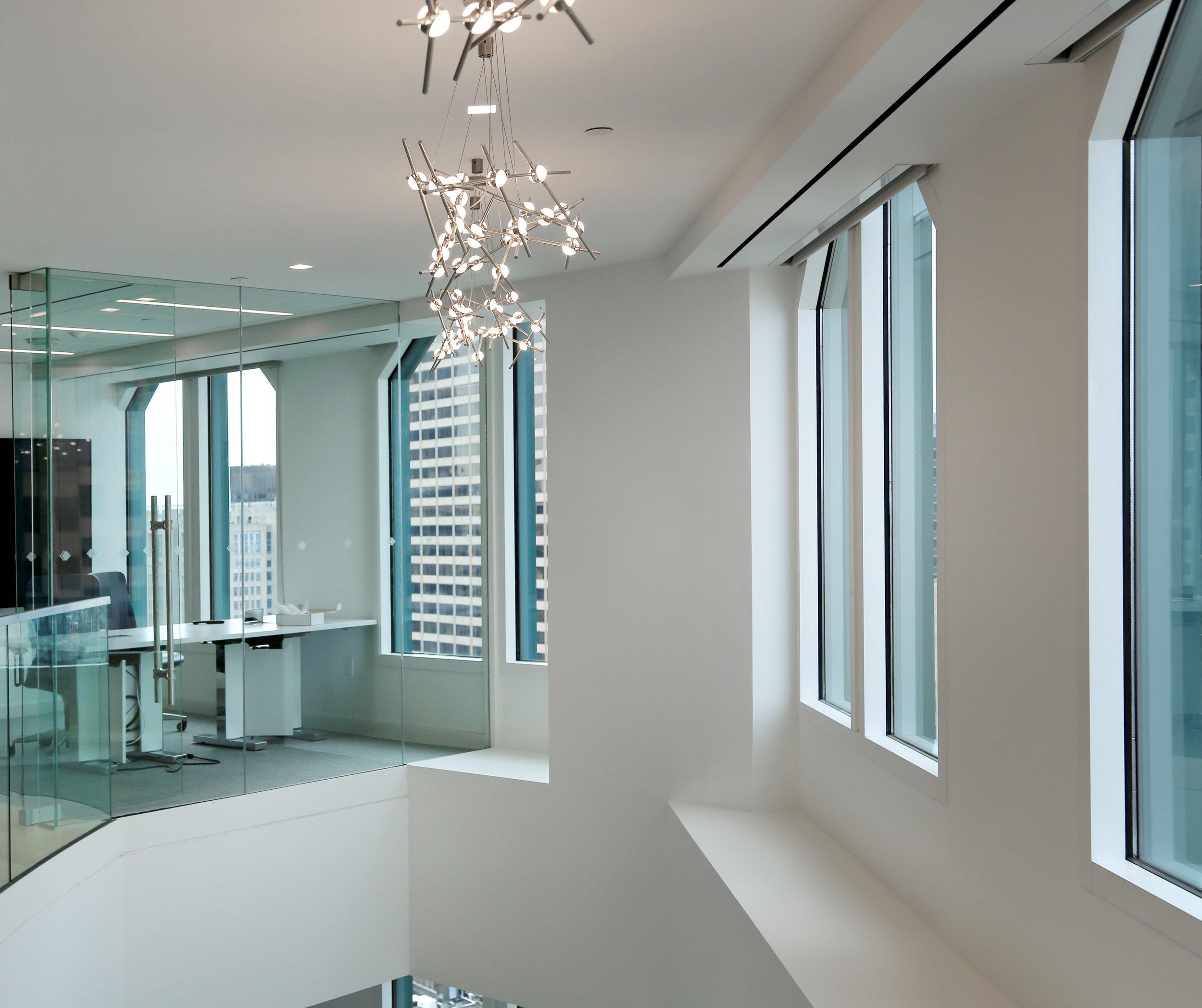 Frameless Glass Open to Below Office Wall - Spaceworks AI.jpg