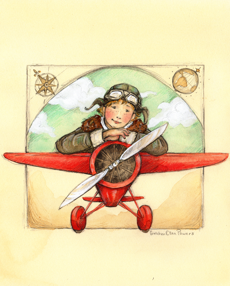 Amelia Earhart - Get Your Head in the Clouds (Gretchen Ellen Powers).jpg