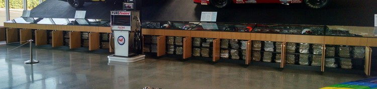 World of Speed's magazine collection has been cataloged and specially preserved for long-term care and accessibility.
