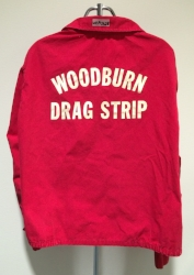 While questioned whether an official Woodburn jacket, it is in the same red style - only newer stitches.