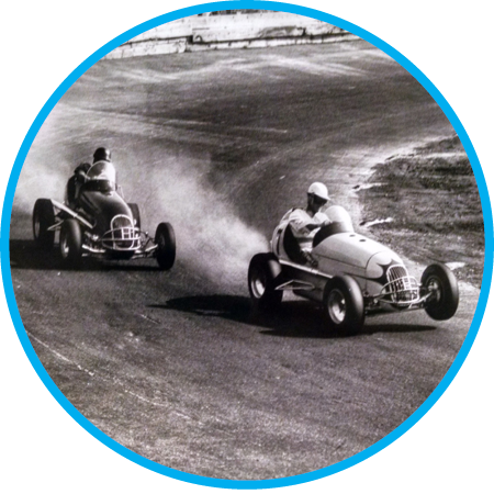 Union Street Speedway oval track, later officially named Portland Speedway, offers generations of midget, stock, and big car racing until closing in 2001. Check out  Portland Speedway's drive-in movie theater .