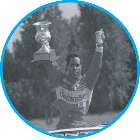 Willy T. Ribbs becomes the first racer of color to win PIR's Rose Cup after racing to first place at the Trans-Am race event at PIR which lasted 1975-2005. Get to know another Trans-Am racer, local  Cindi Lux .