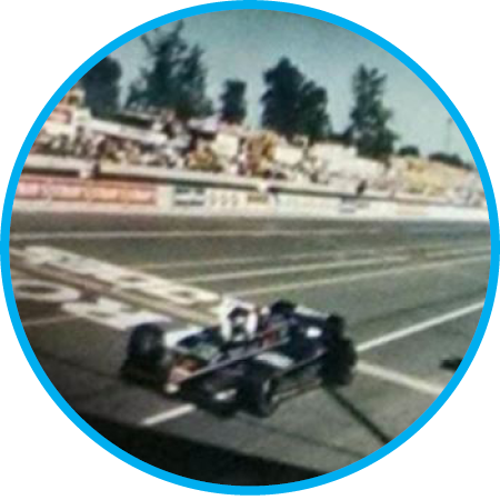 After winning the first Indy car CART race at Portland International Raceway in 1984, Al Unser Jr. wins for the third time after winning the year before in 1994. Check out  film from the first Indy race at PIR .