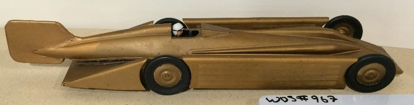 Henry Seagrave 1929 Golden Arrow Model Car, WOS#967