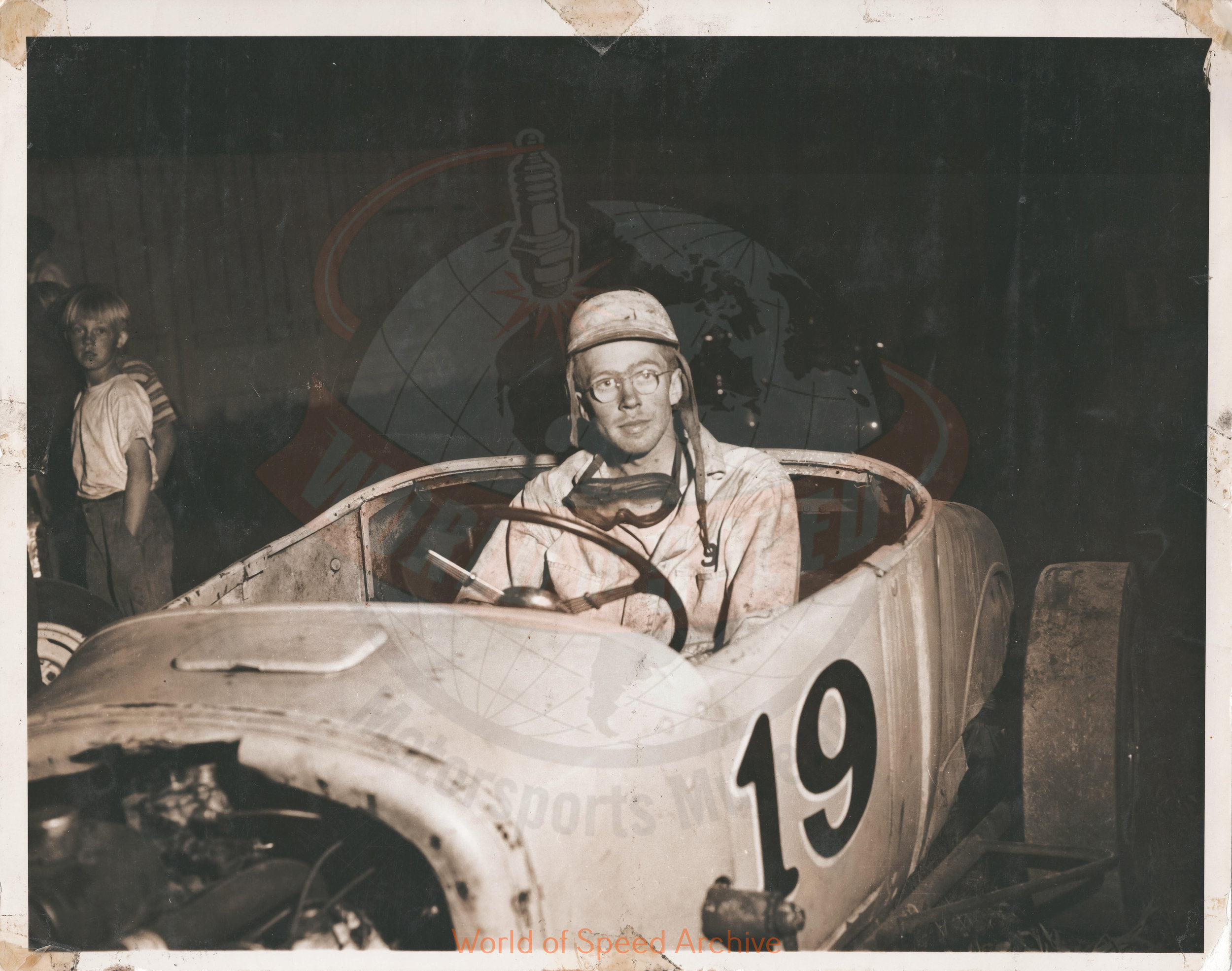 JG.04.A - Jack Greiner's first race, Salem Hollywood Bowl 1950